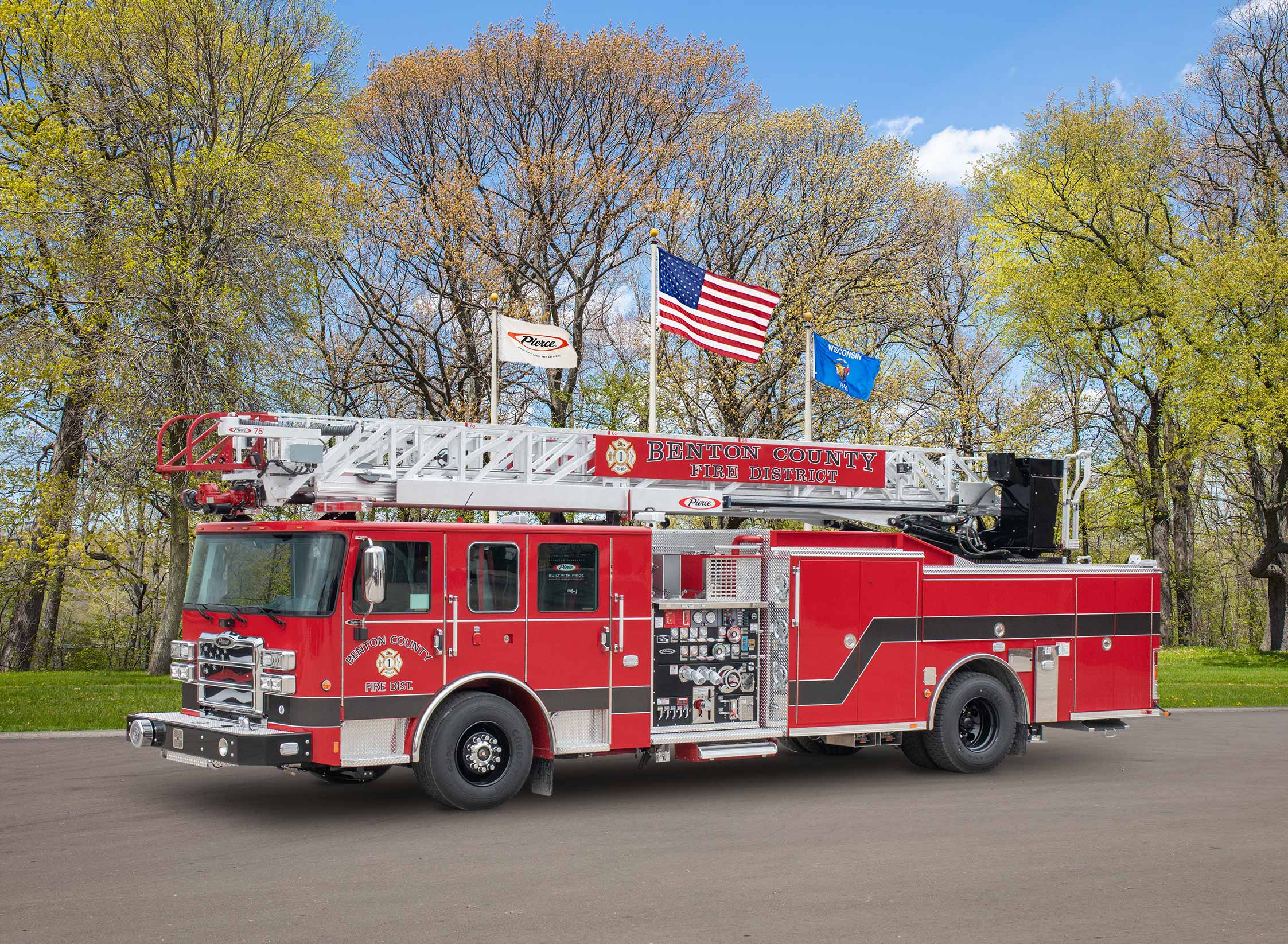 Benton County Fire Protection District No.1 - Aerial