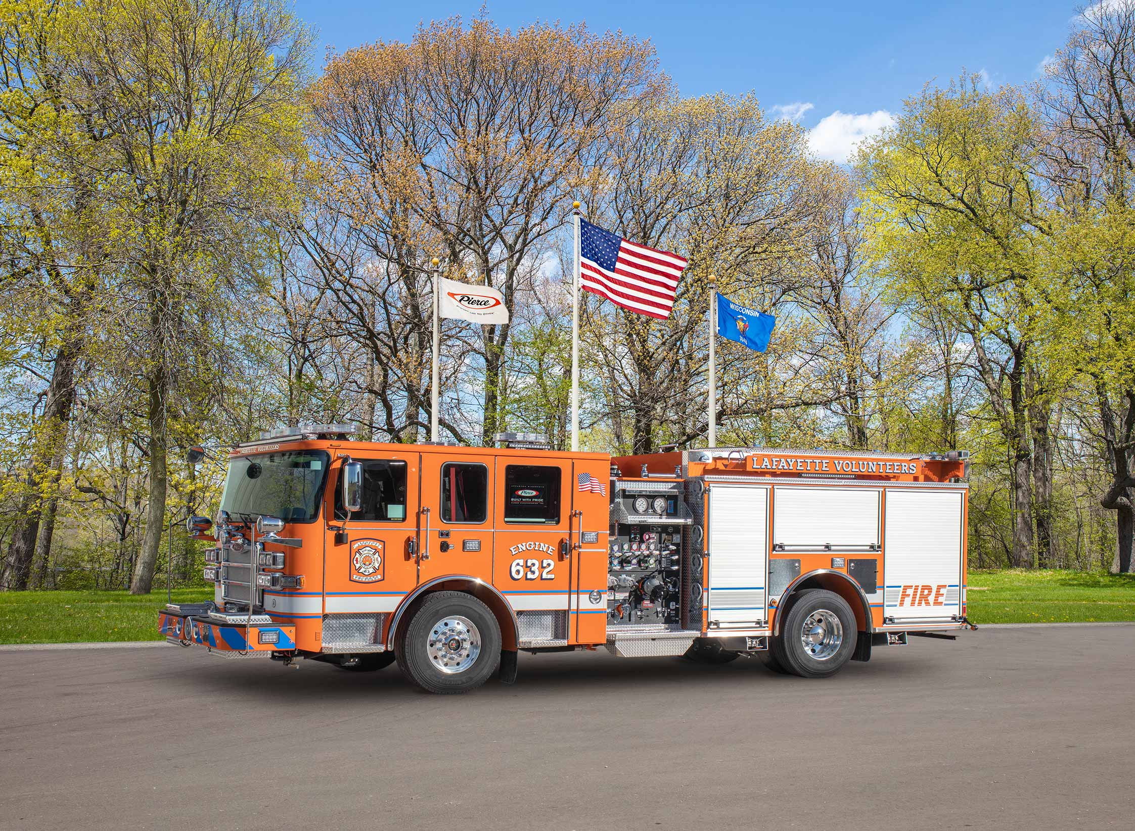 Lafayette Fire Company of East Lampeter Township - Pumper