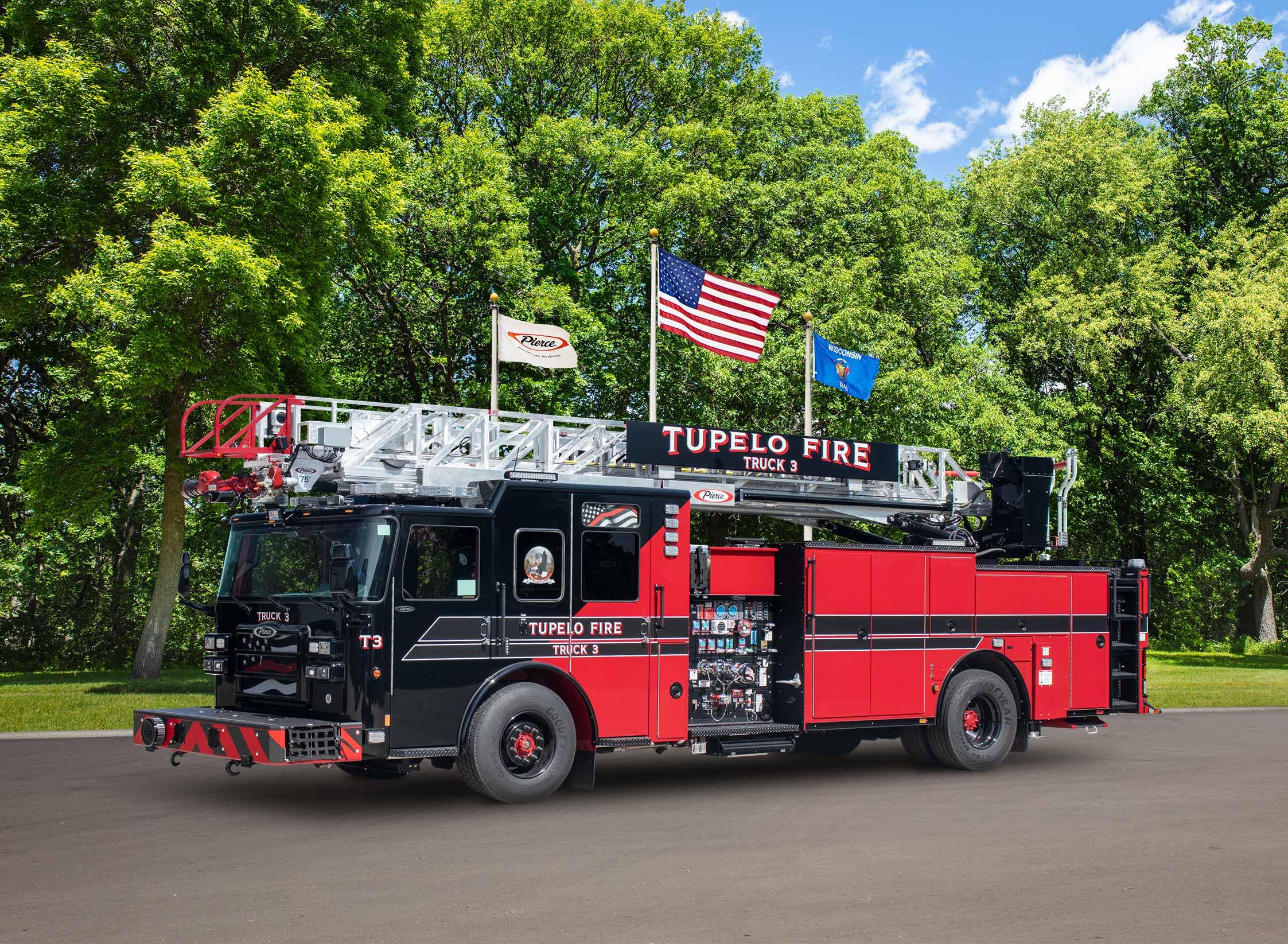Tupelo Fire Department - Aerial