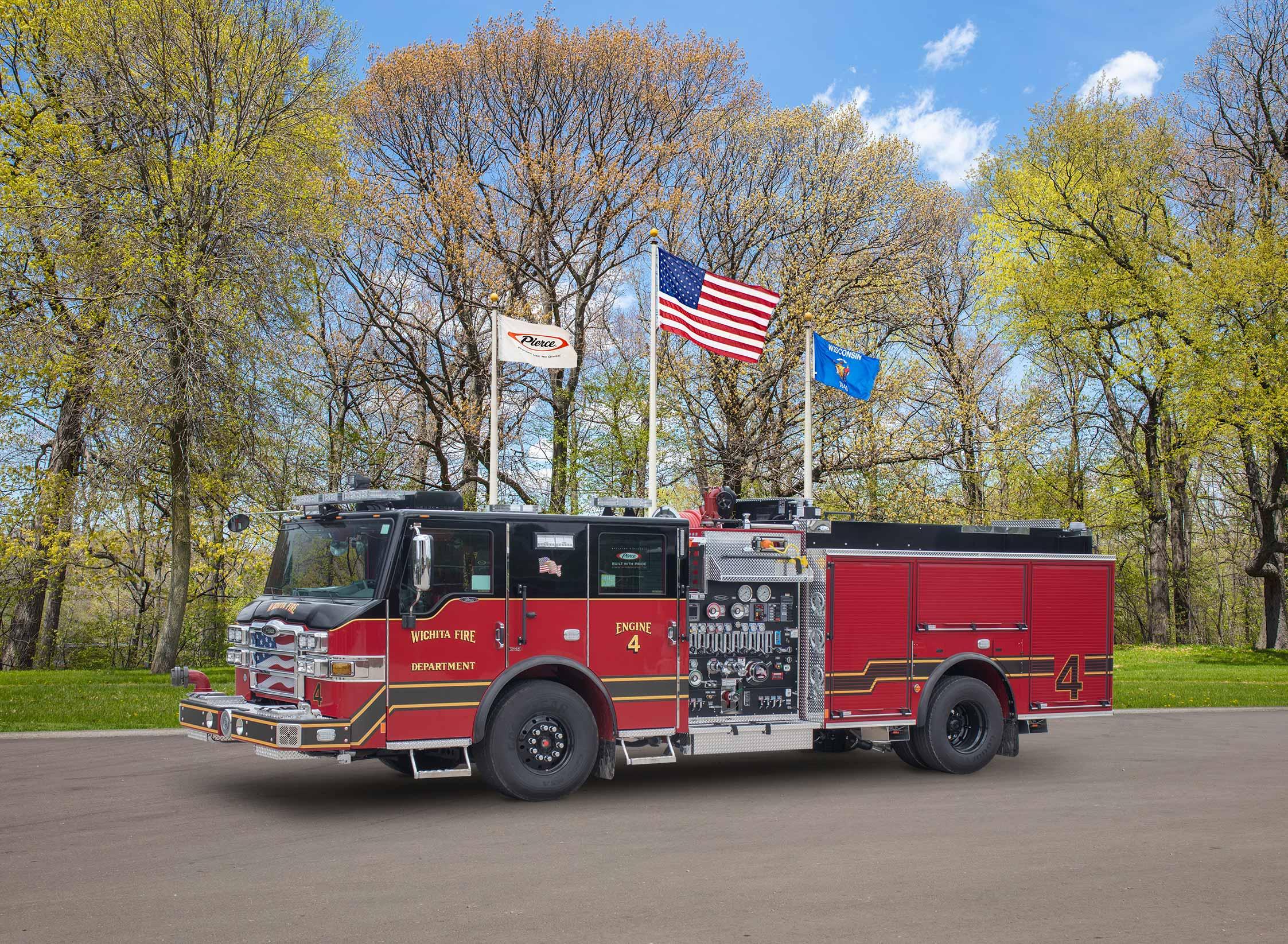 Wichita Fire Department - Pumper