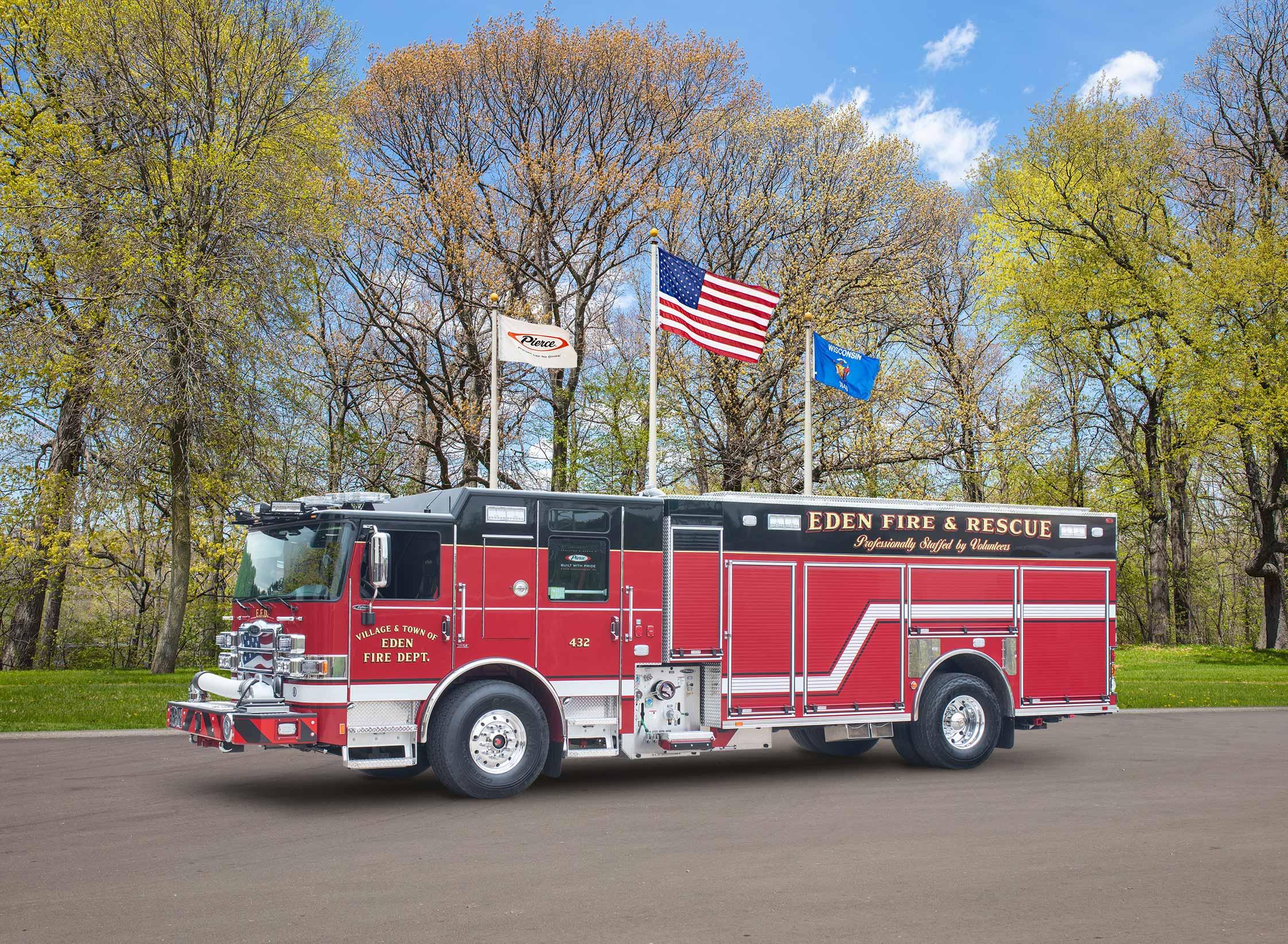Eden Fire Department - Pumper