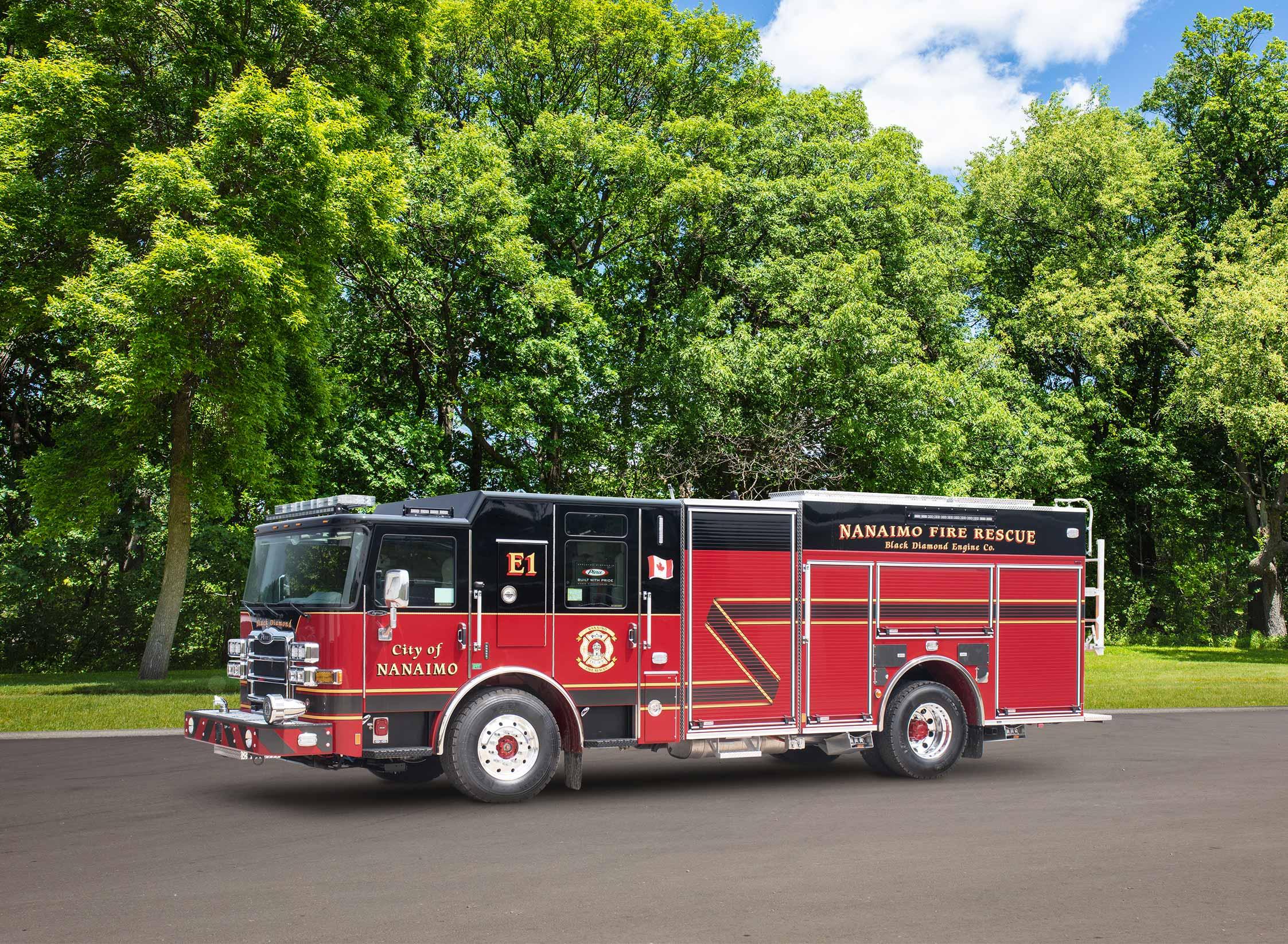 Nanaimo Fire Department - Pumper