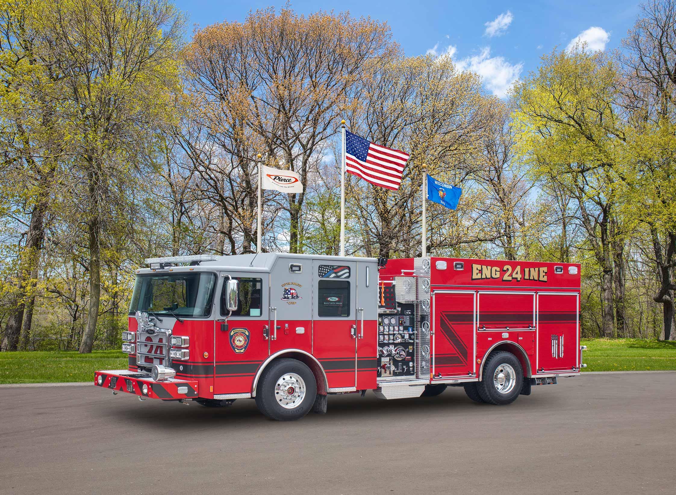 Broussard Fire Department - Pumper