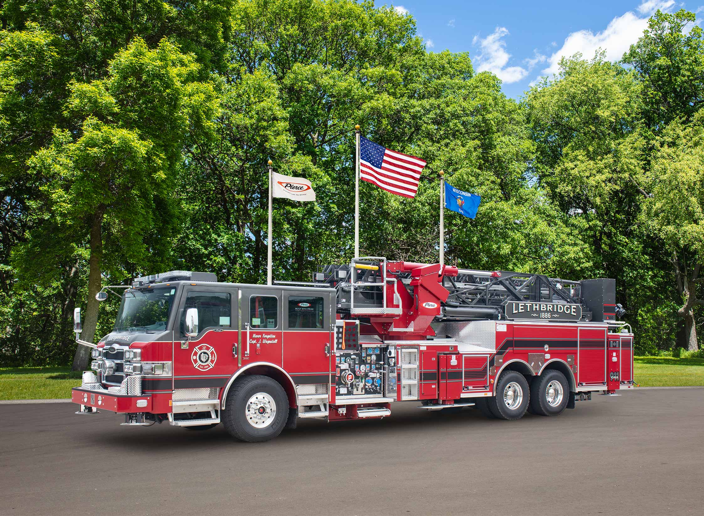 Lethbridge Fire Department - Aerial