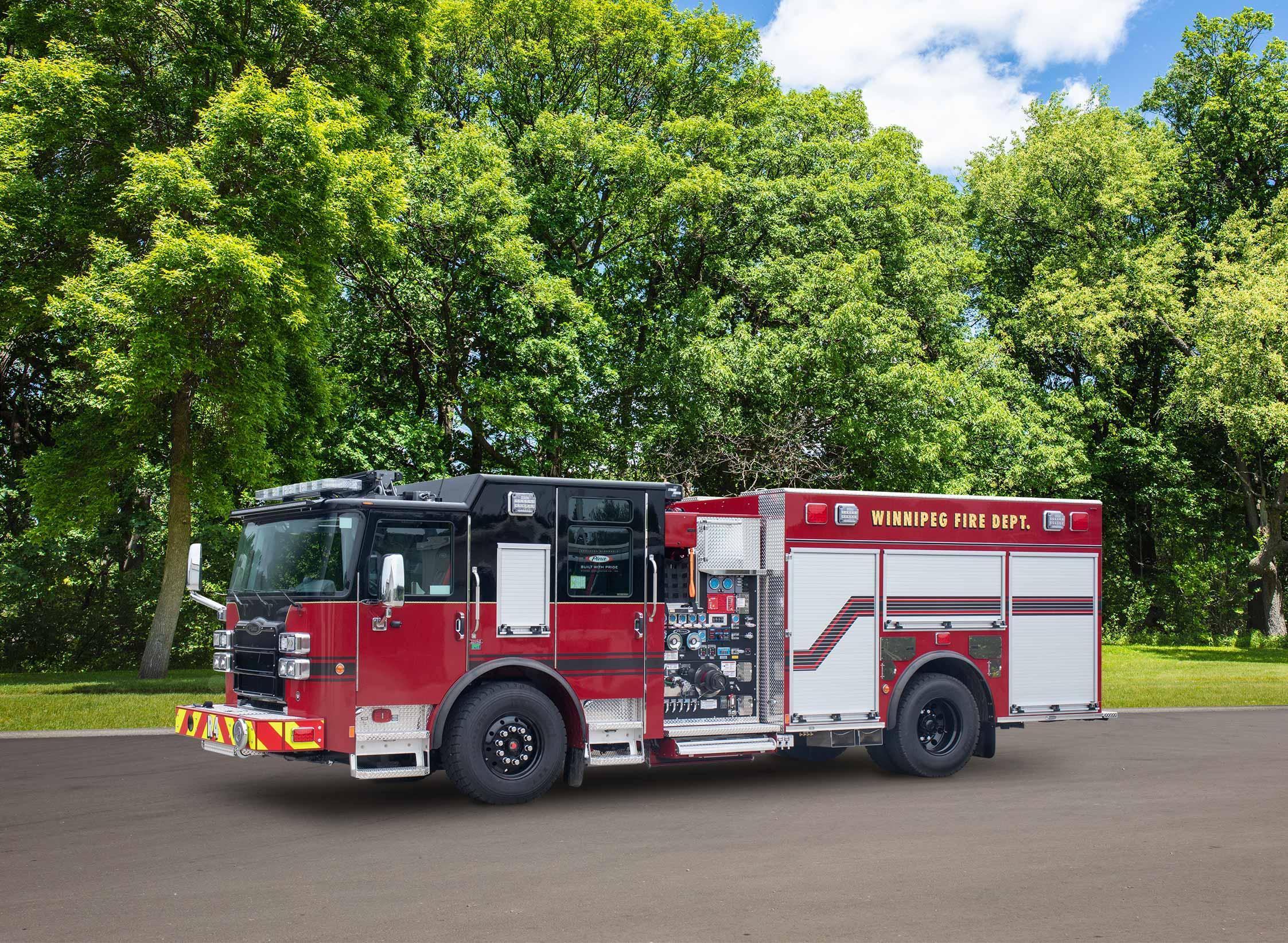 Winnipeg Fire Department - Pumper