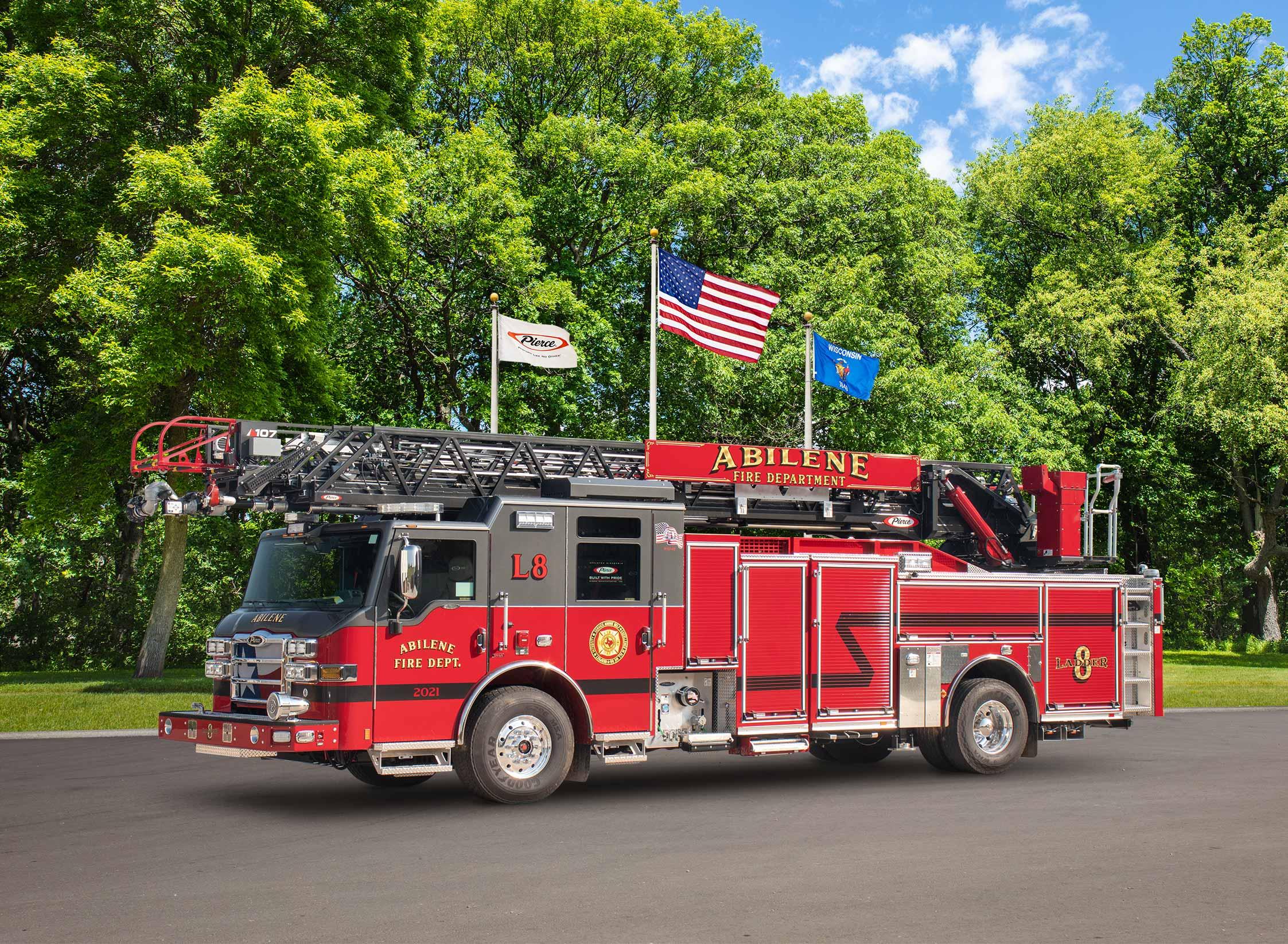 Abilene Fire Department - Aerial