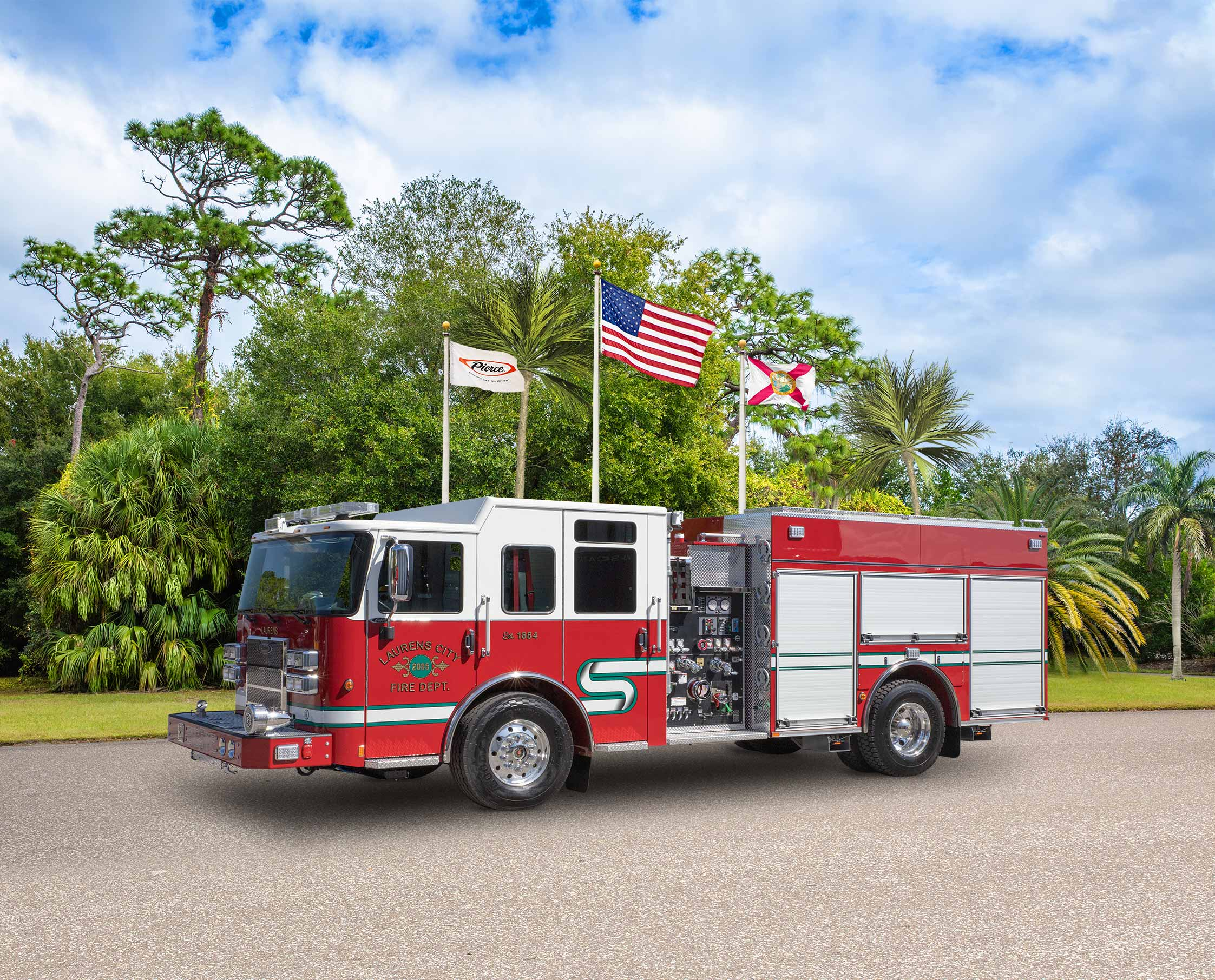 Laurens City Fire Department - Pumper