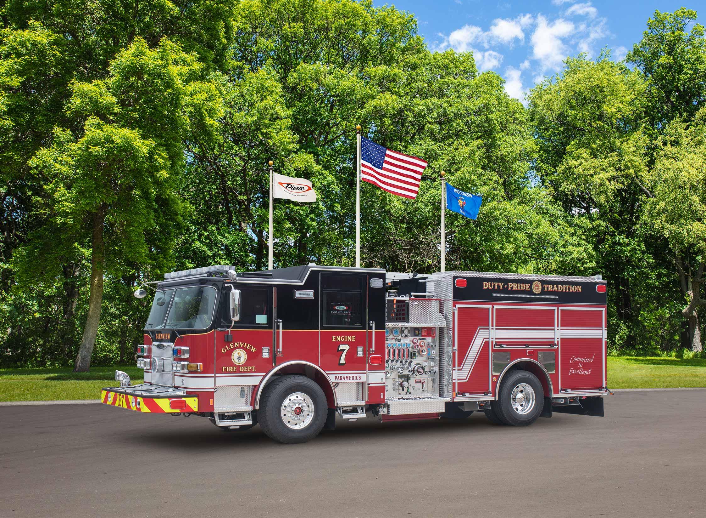 Glenview Fire Department - Pumper