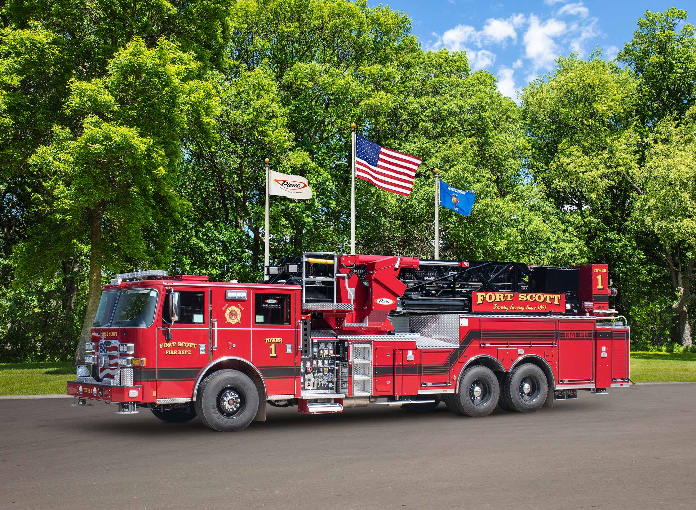 Fort Scott Fire Department - Aerial