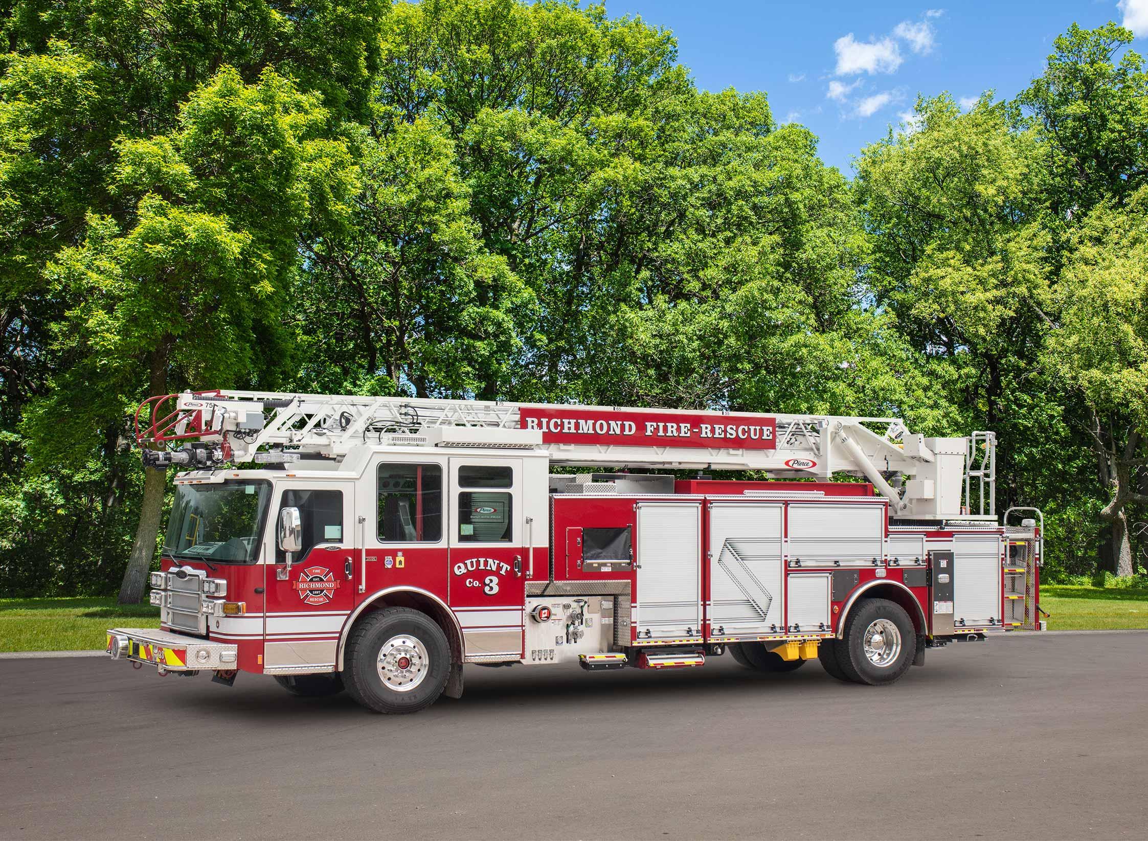 Richmond Fire Rescue - Aerial