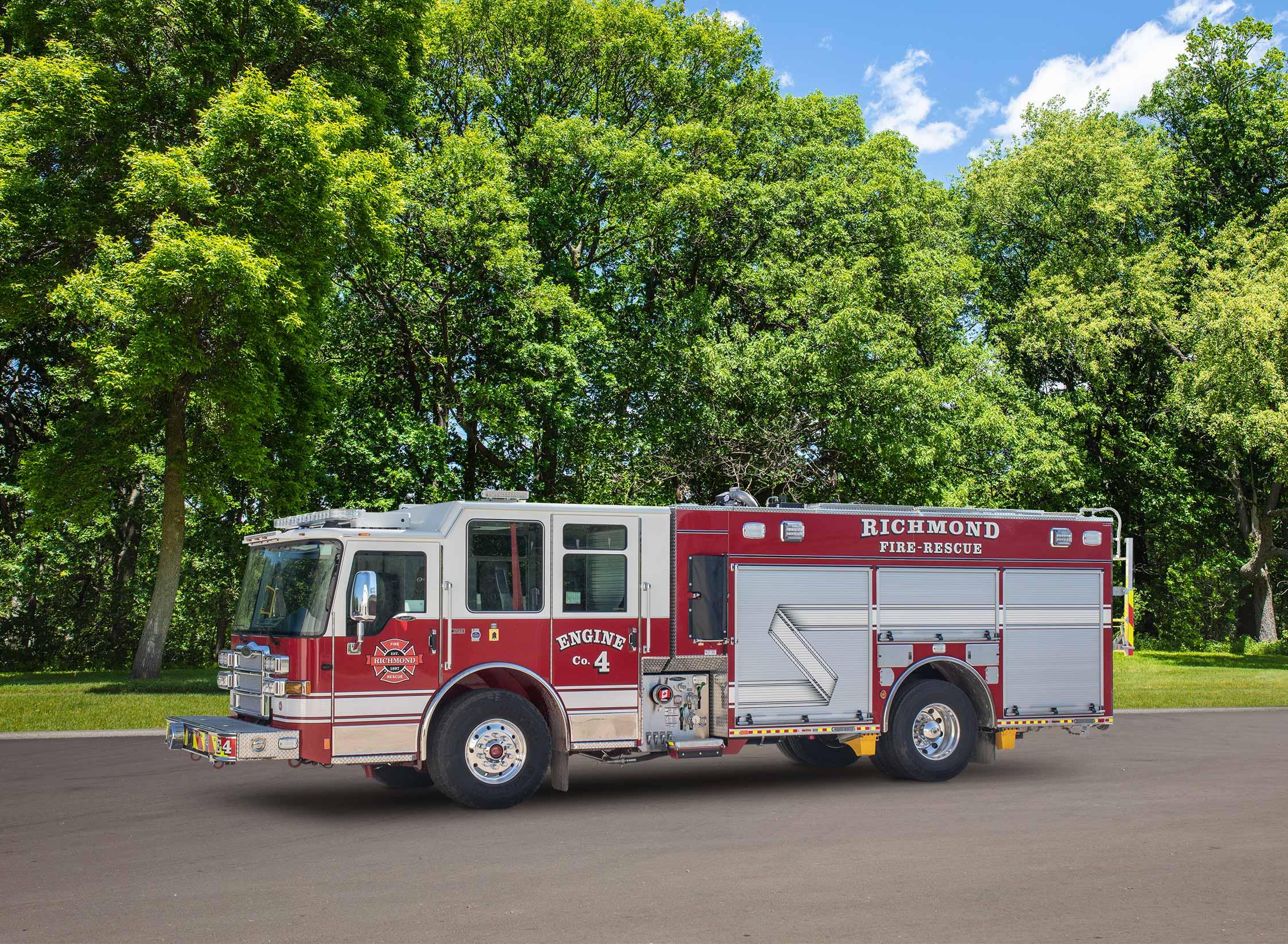 Richmond Fire Department - Pumper