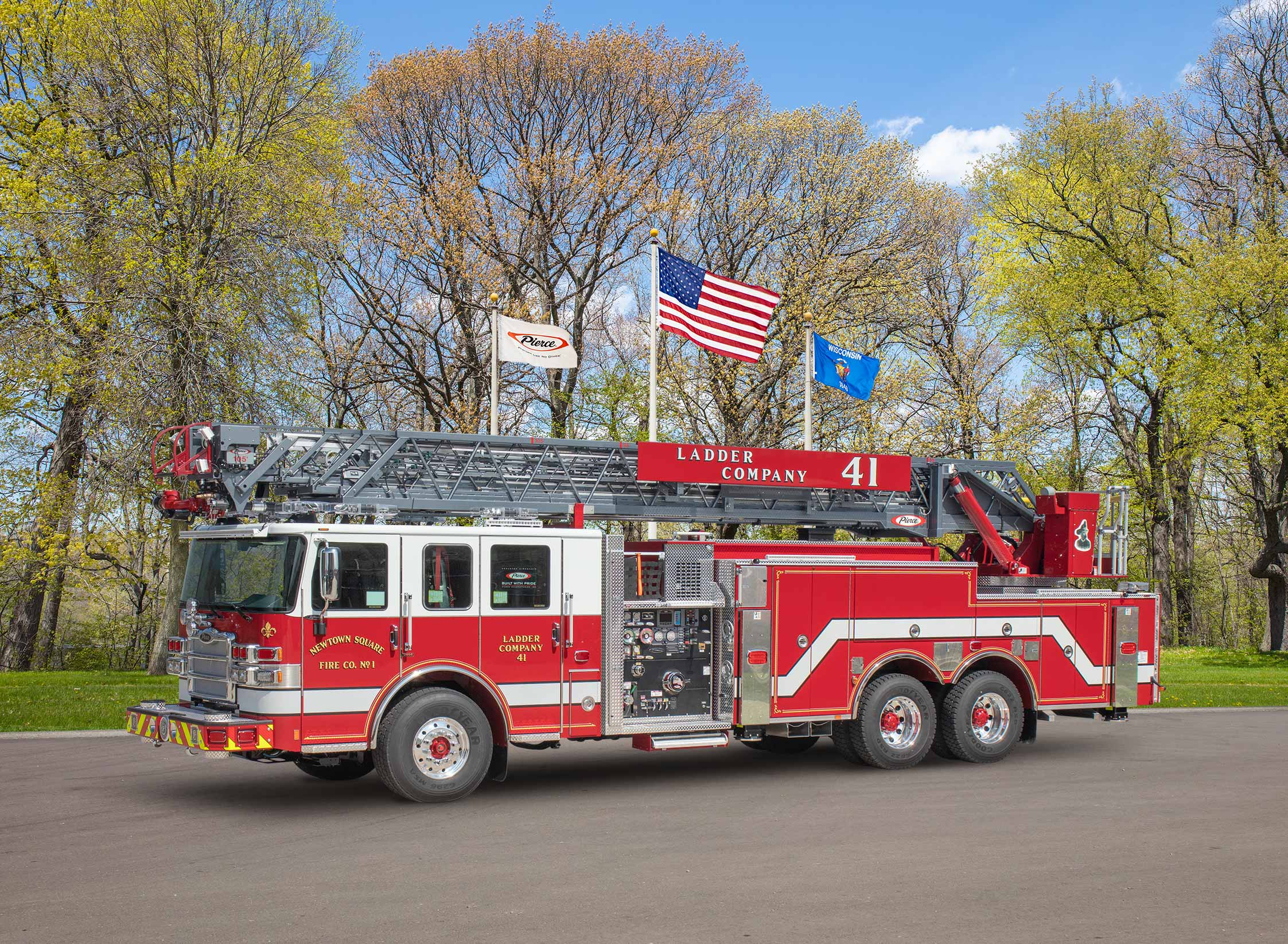 Newtown Square Fire Company No.1 - Aerial