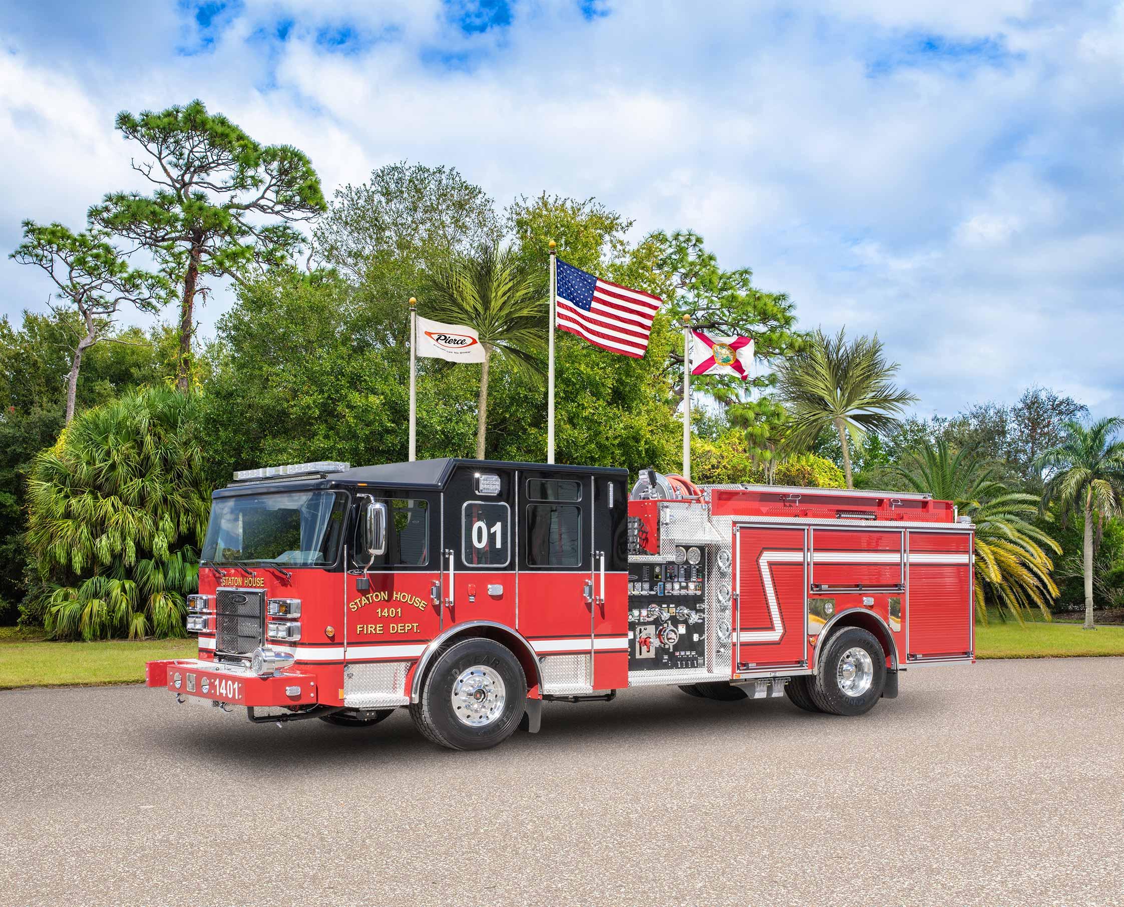 Staton House Fire Department - Pumper