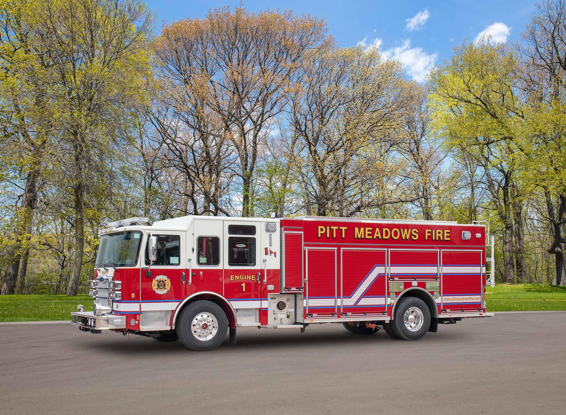 Pitt Meadows Fire & Rescue - Pumper