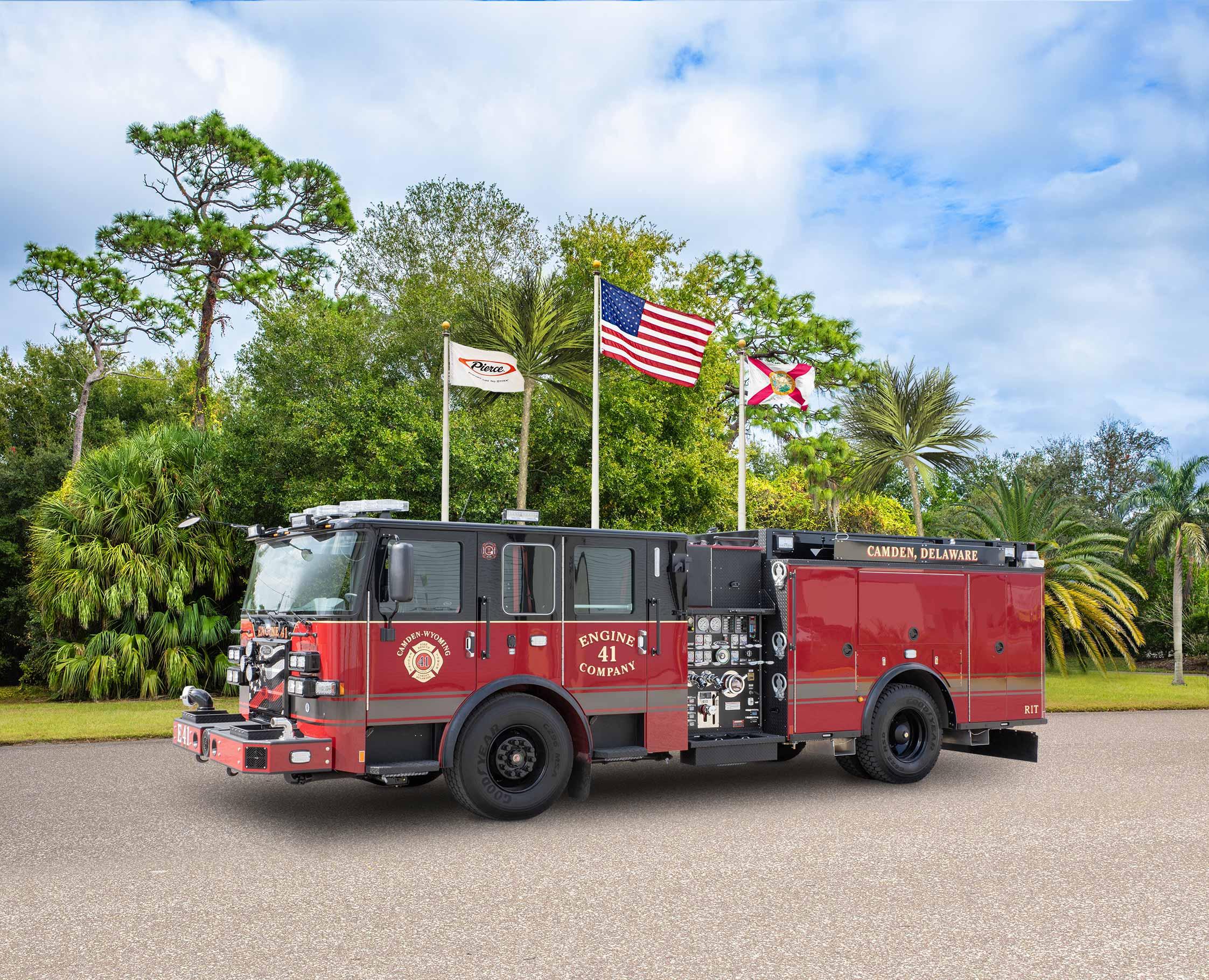 Camden-Wyoming Fire Company - Pumper