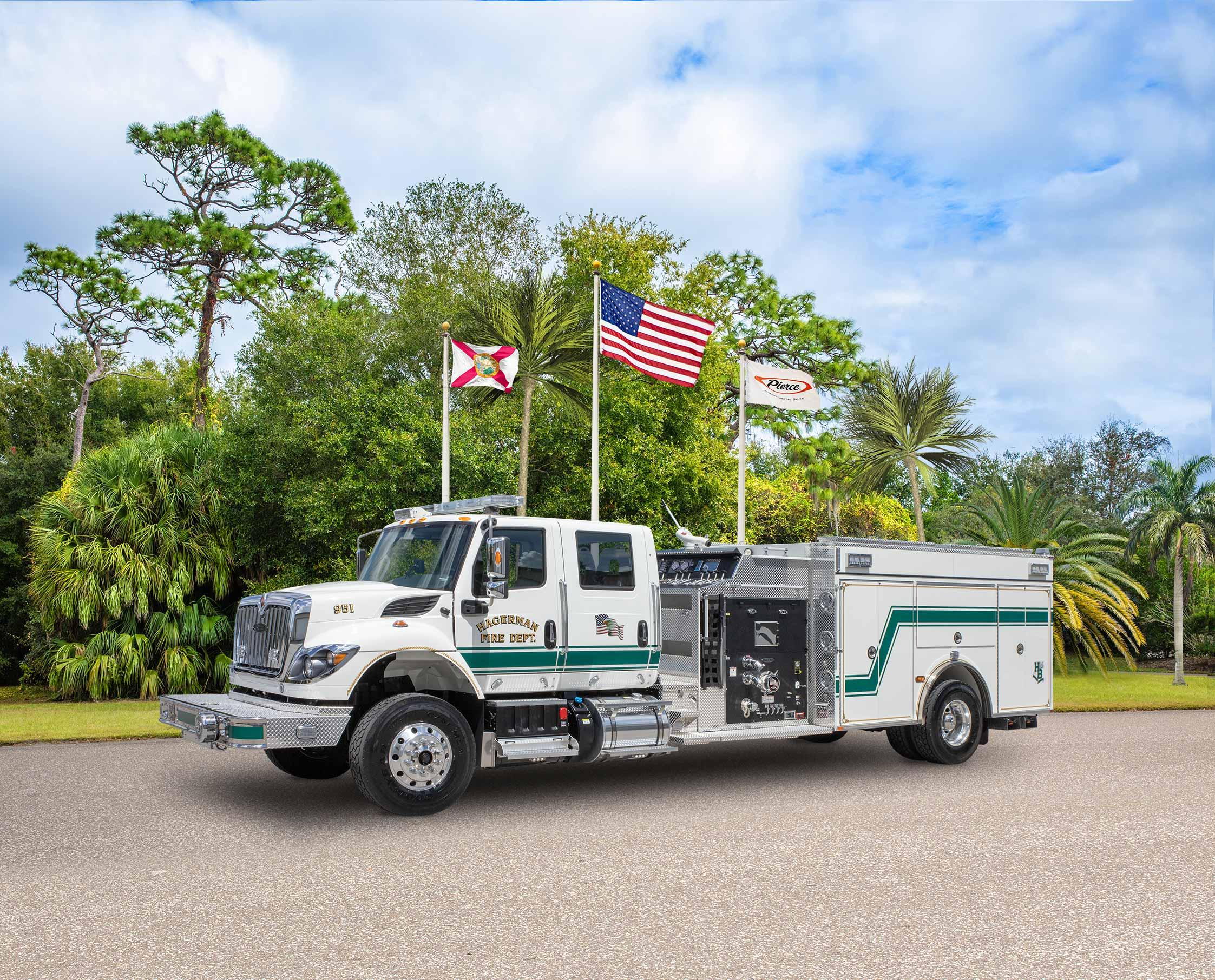 Hagerman Fire Department - Pumper