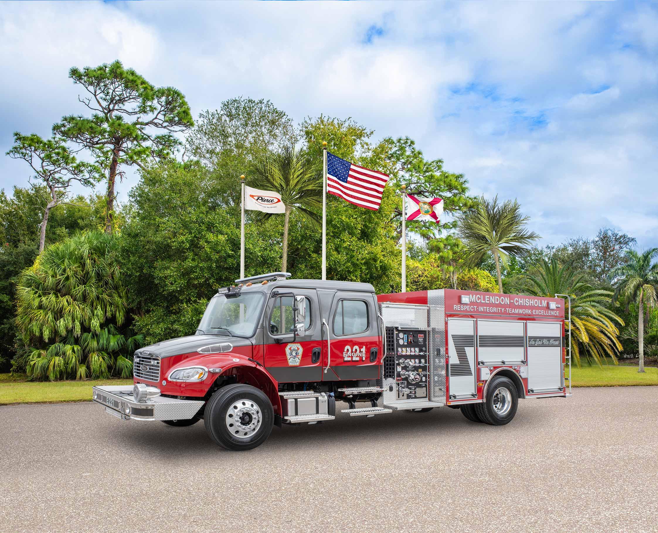 McLendon Chisholm Fire Department - Pumper