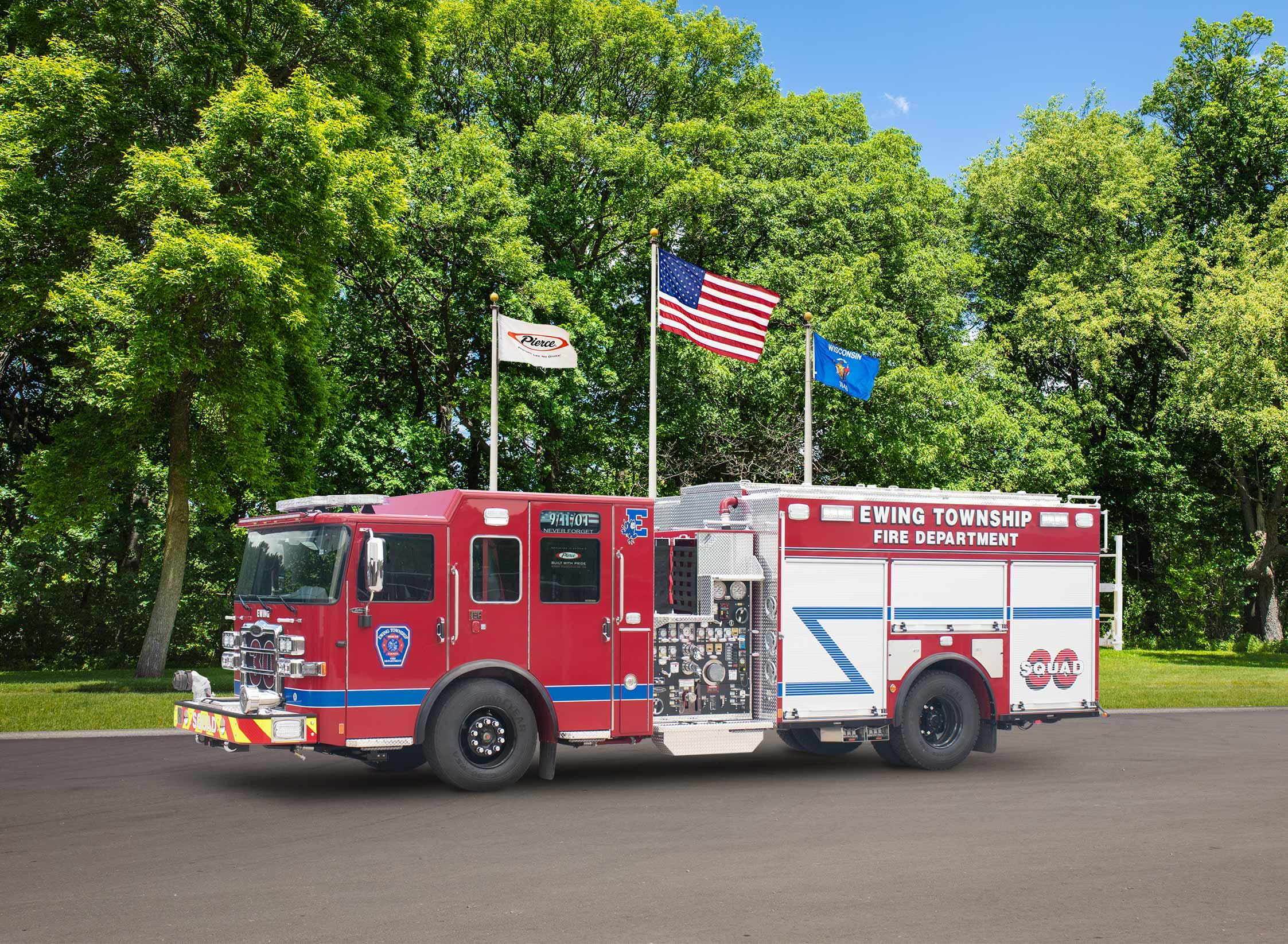 Township of Ewing Fire Department - Pumper