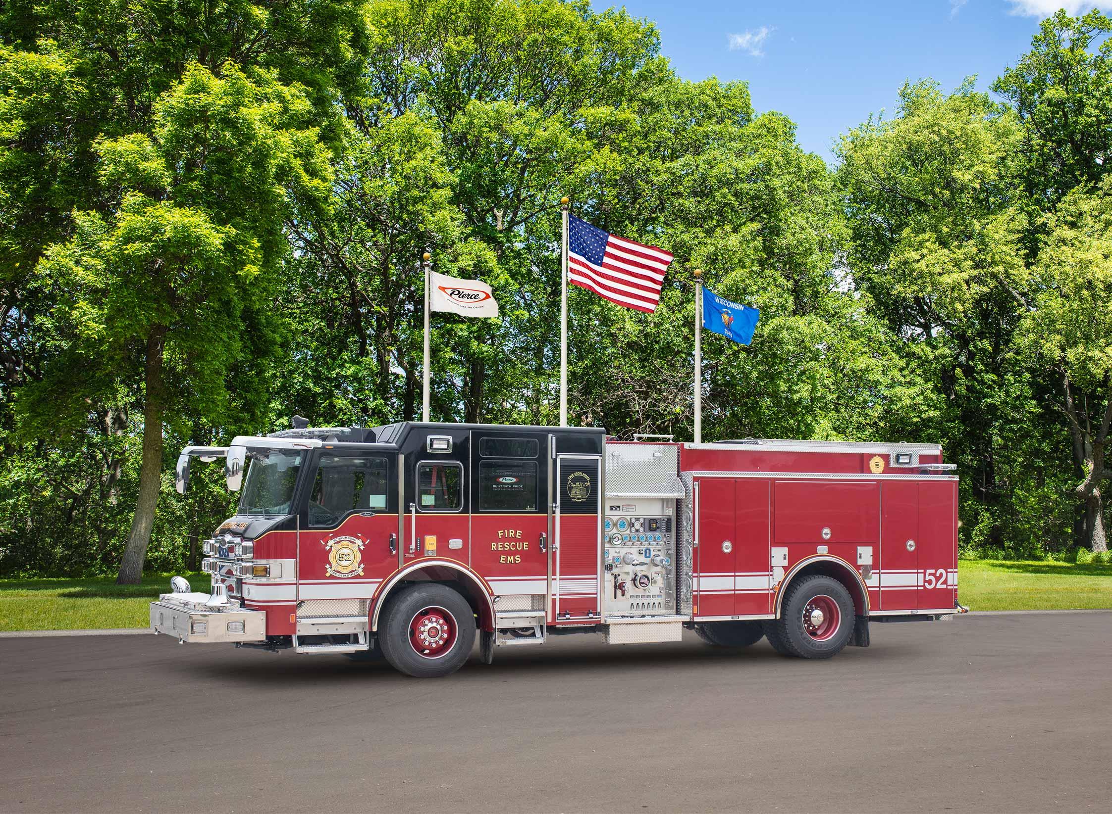Schaumburg Fire Department - Pumper
