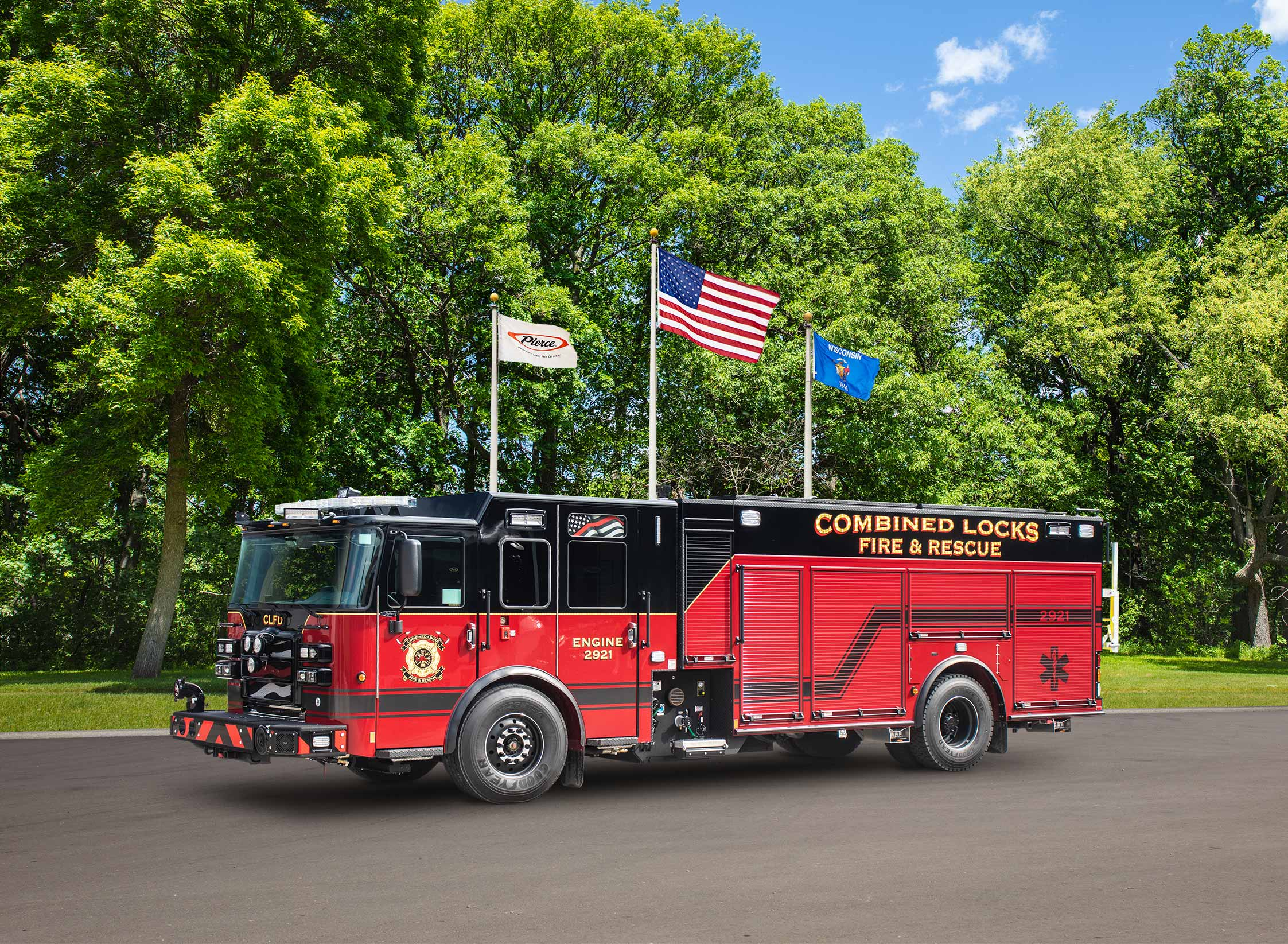 Combined Locks Fire Department - Pumper