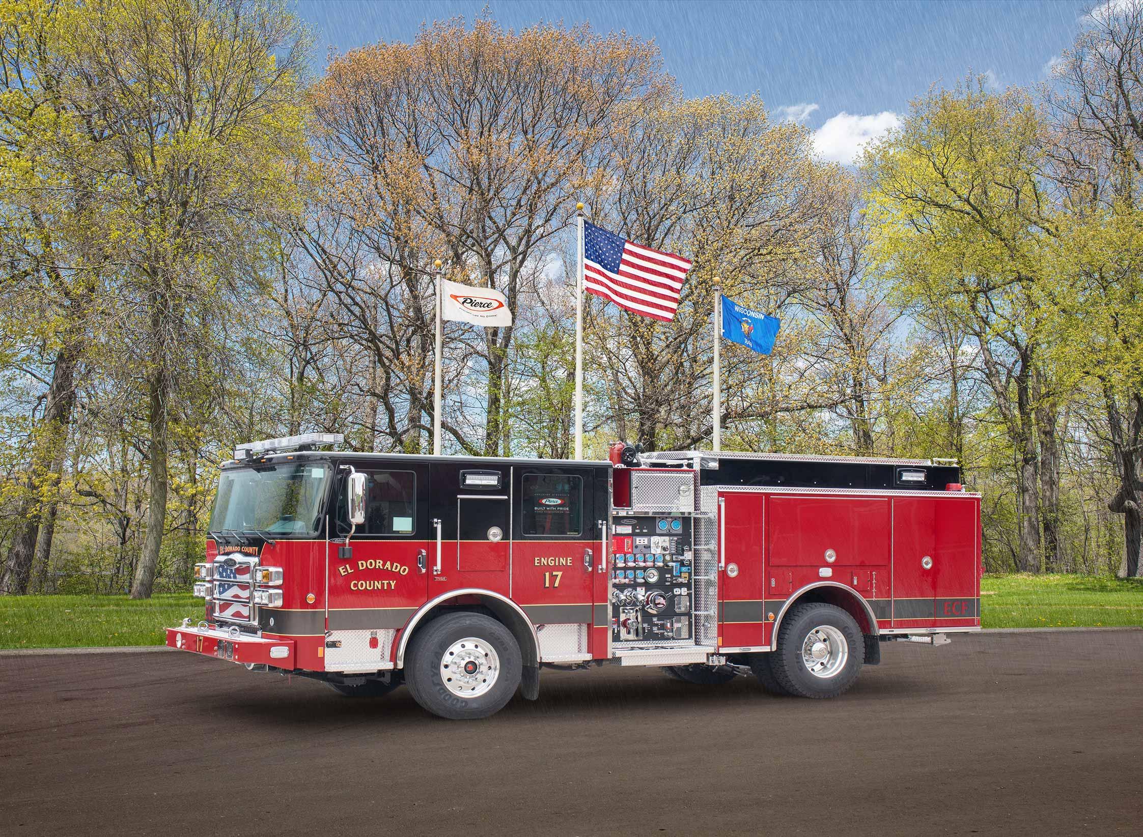 El Dorado County Fire District - Pumper