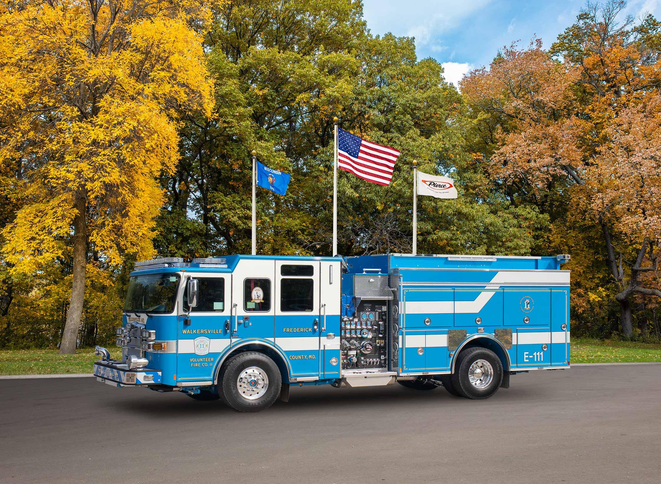 Walkersville Volunteer Fire Company - Pumper