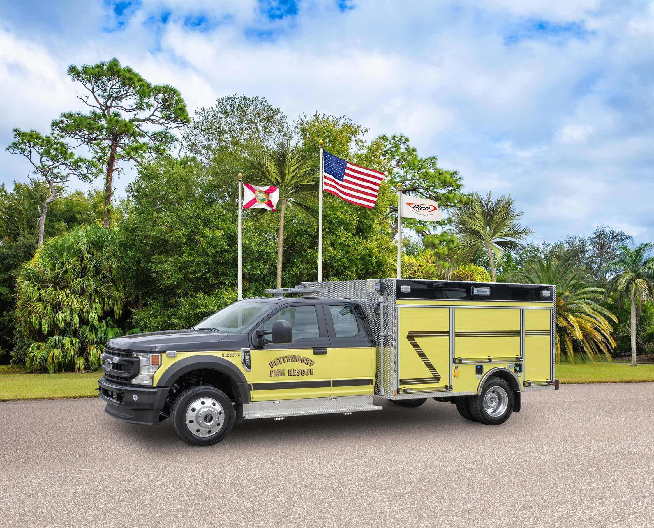 Bettendorf Fire Department - Pumper