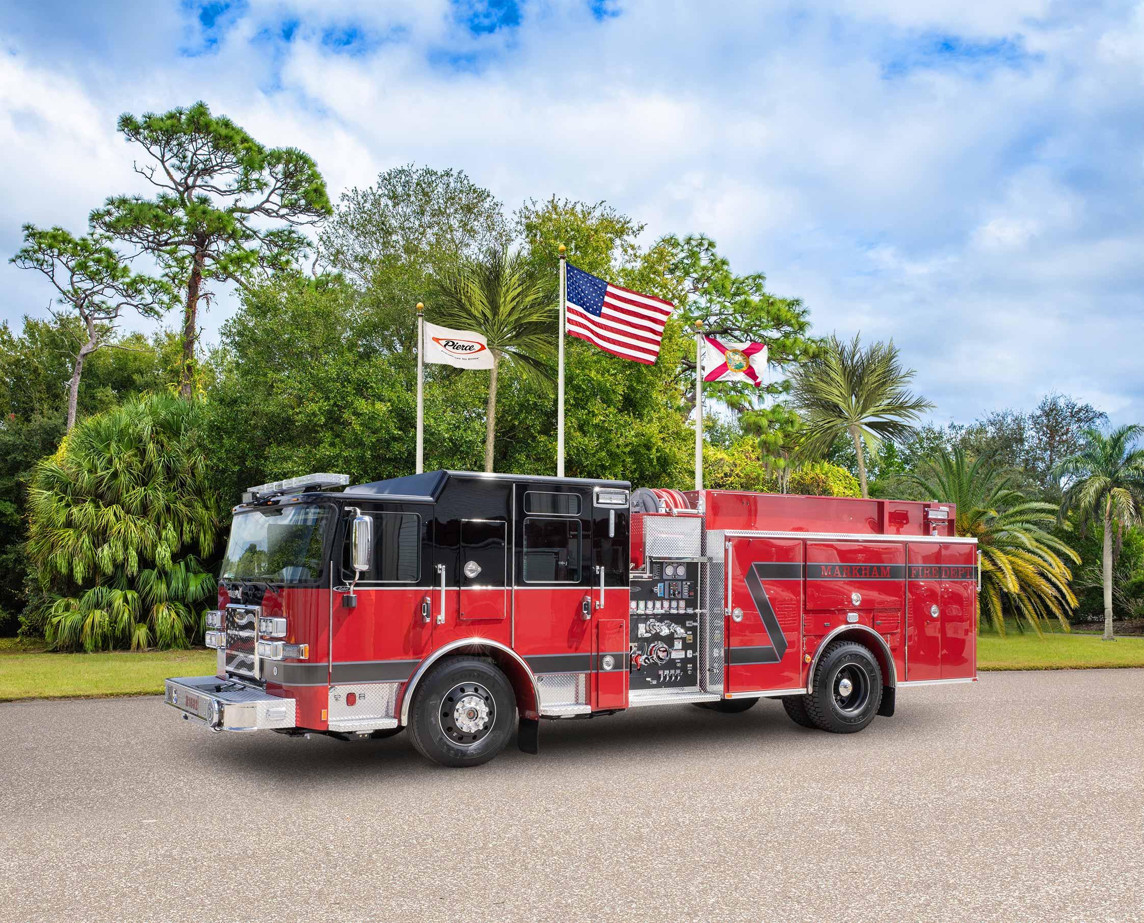 Markham Fire Department - Pumper