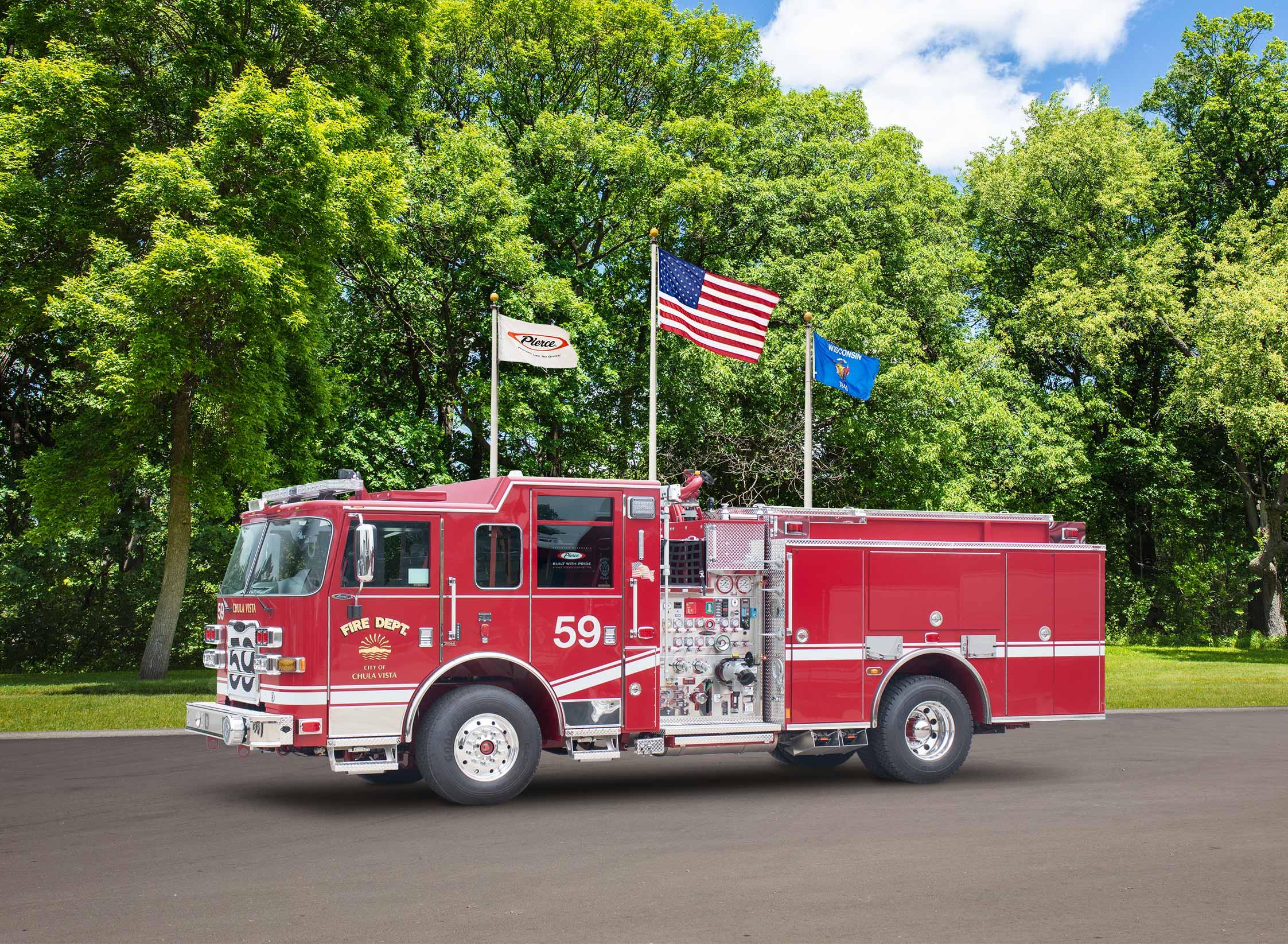 Chula Vista Fire Department - Pumper