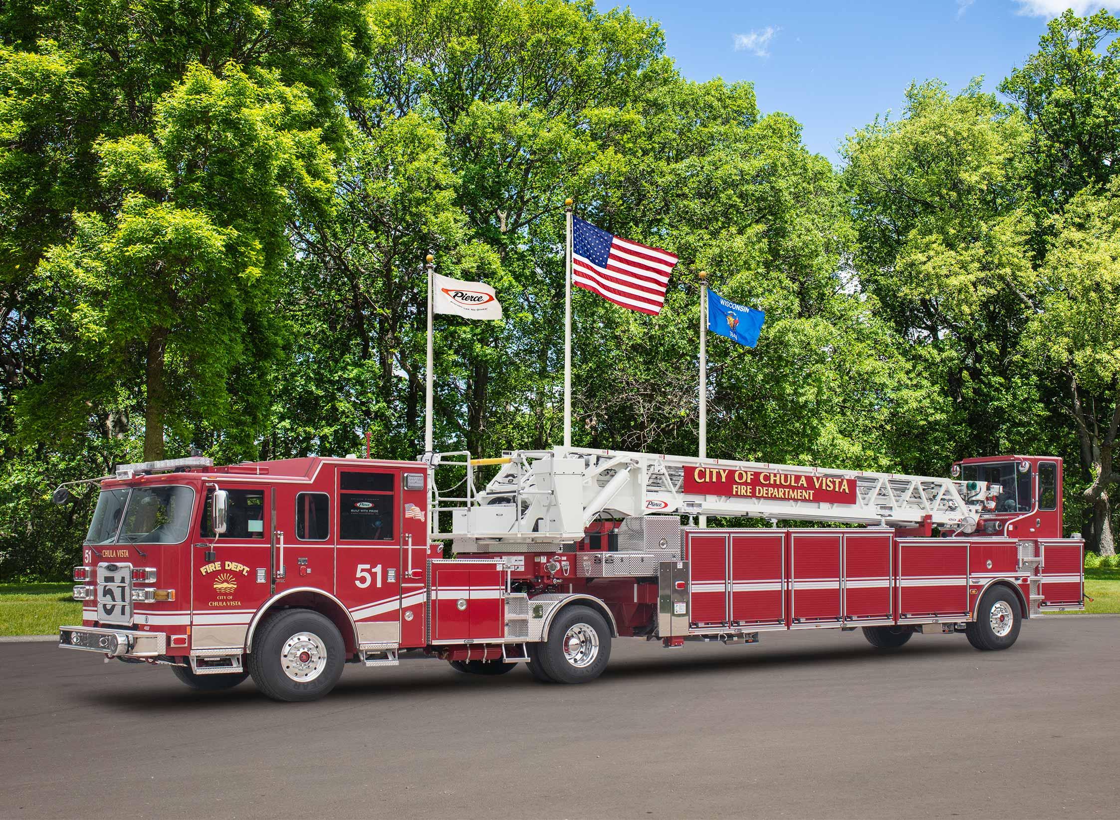 Chula Vista Fire Department - Aerial