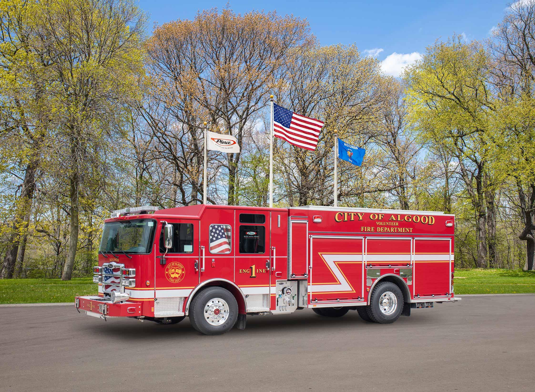 Algood Fire Department - Pumper