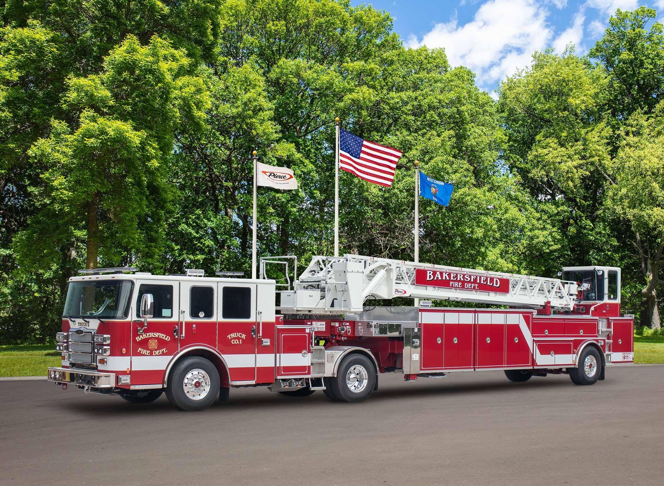 Bakersfield Fire Department - Aerial