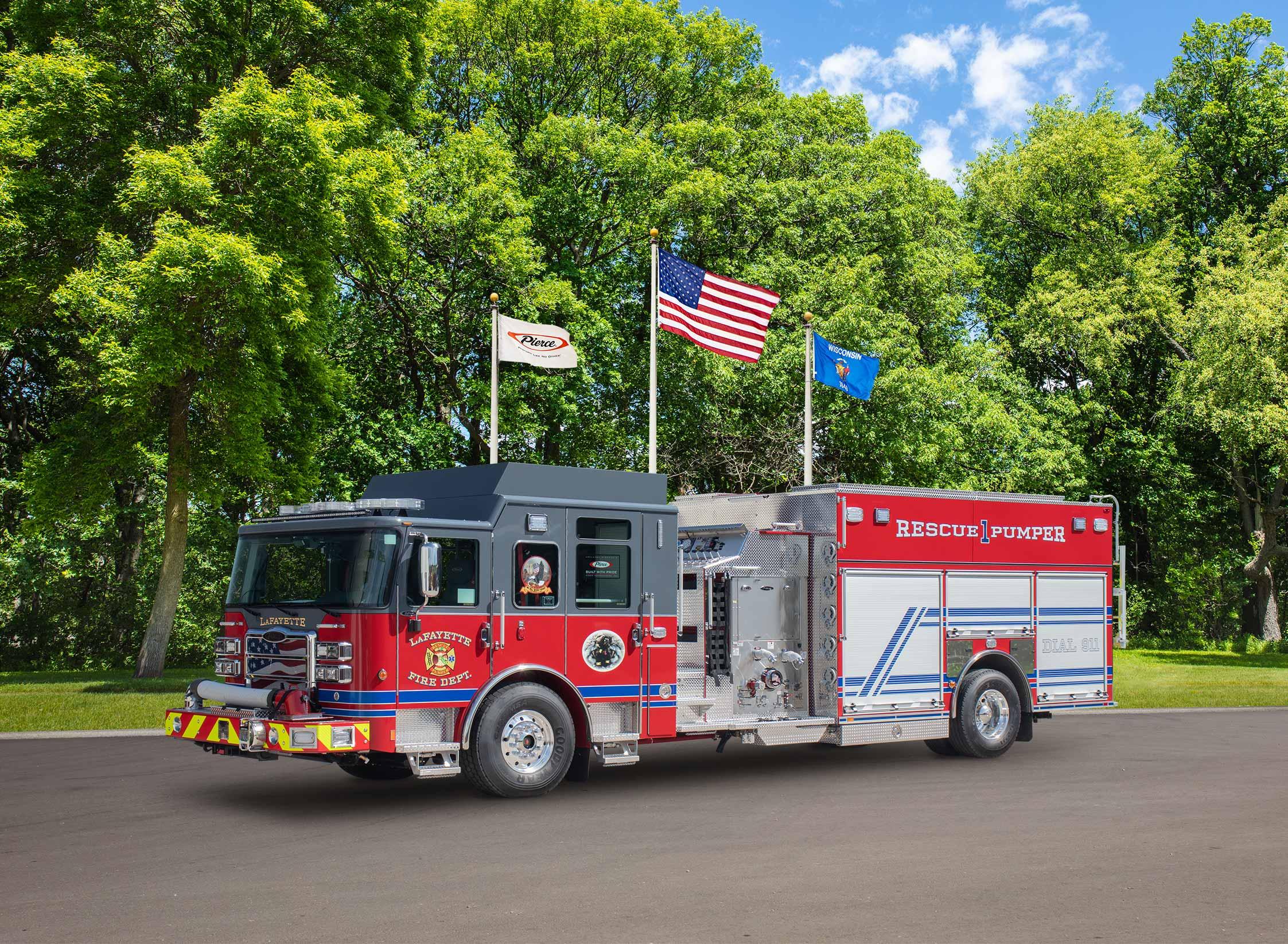 Lafayette Fire District - Pumper