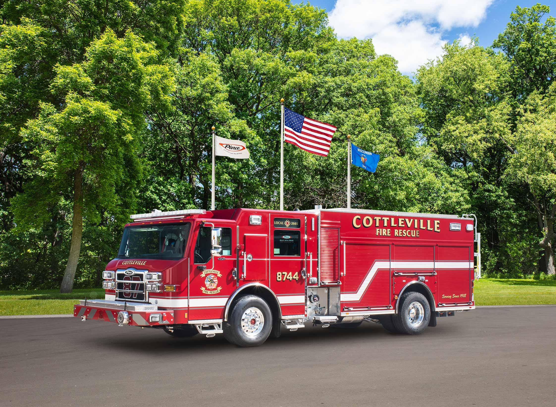Cottleville Fire Protection District - Pumper