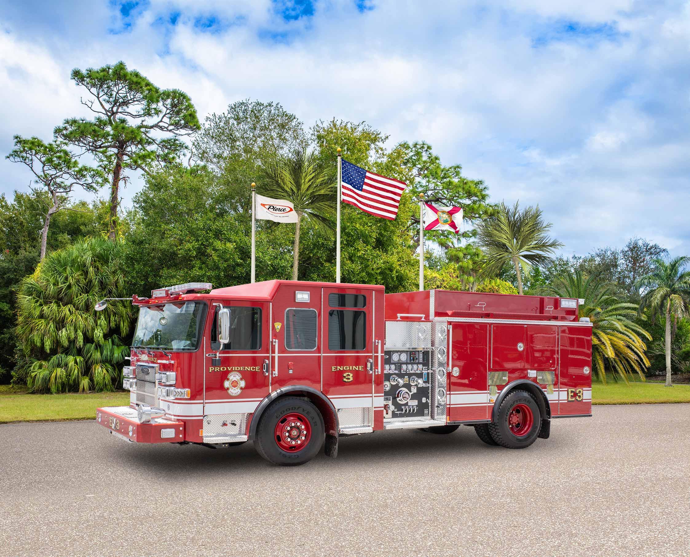 Providence Fire Department - Pumper