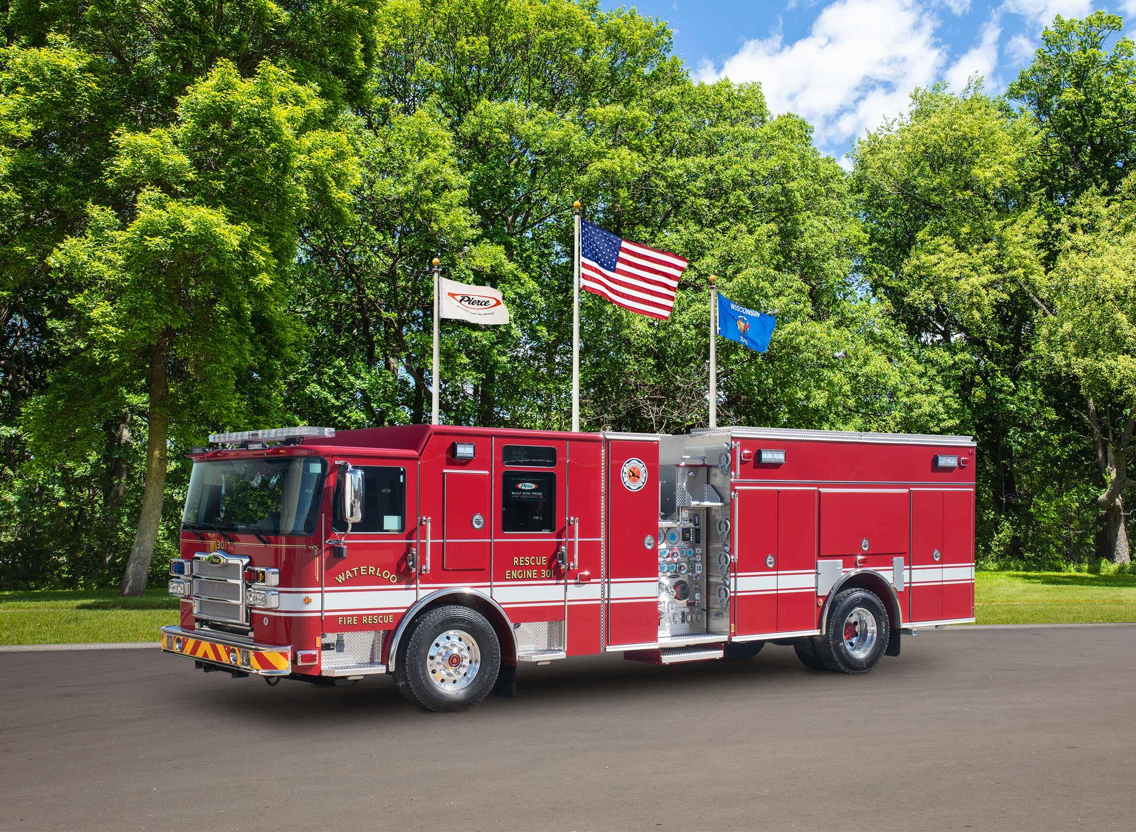 Waterloo Fire Rescue - Pumper