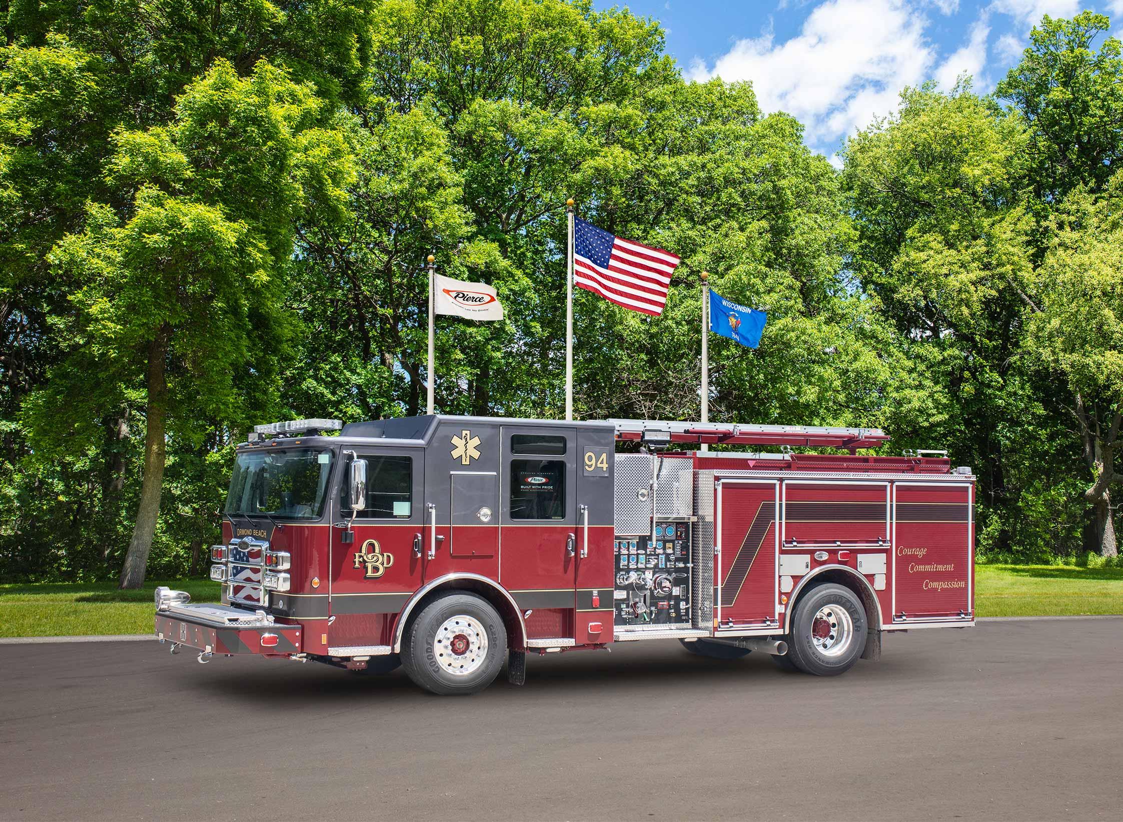Ormond Beach Fire Department - Pumper