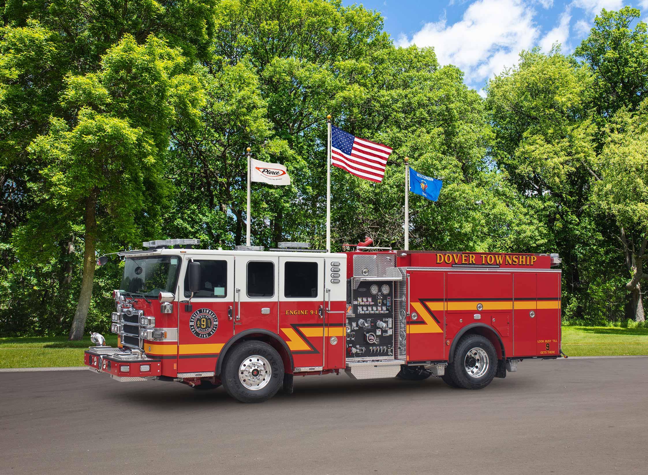 Dover Township Fire Department - Pumper