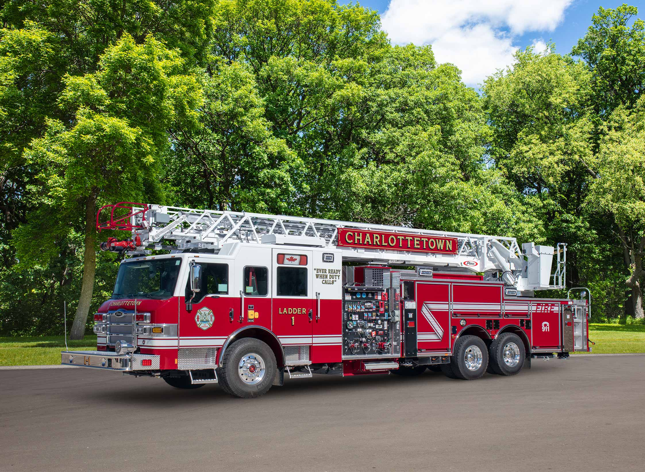 Charlottetown Fire Department - Aerial