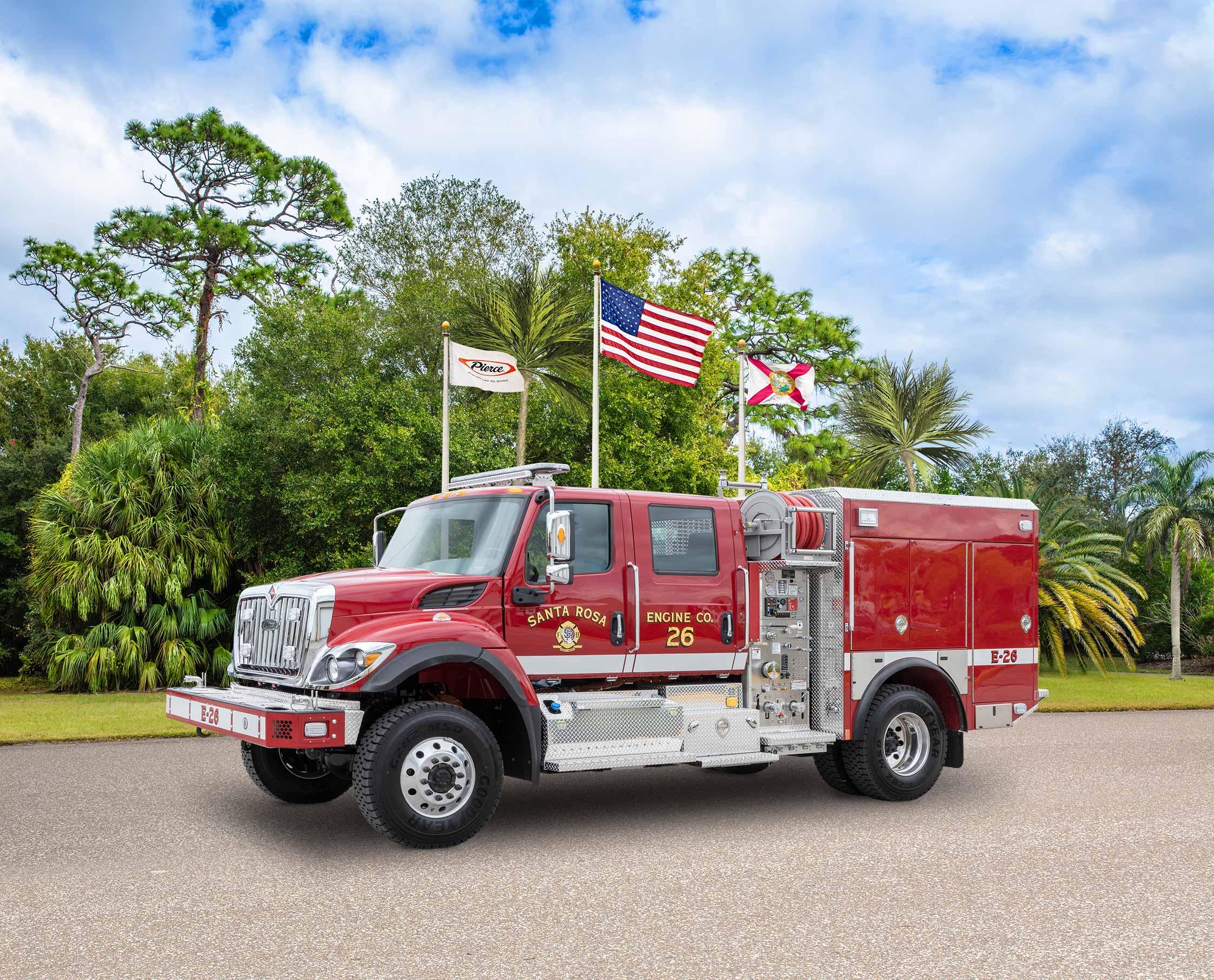 Santa Rosa Fire Department - Pumper