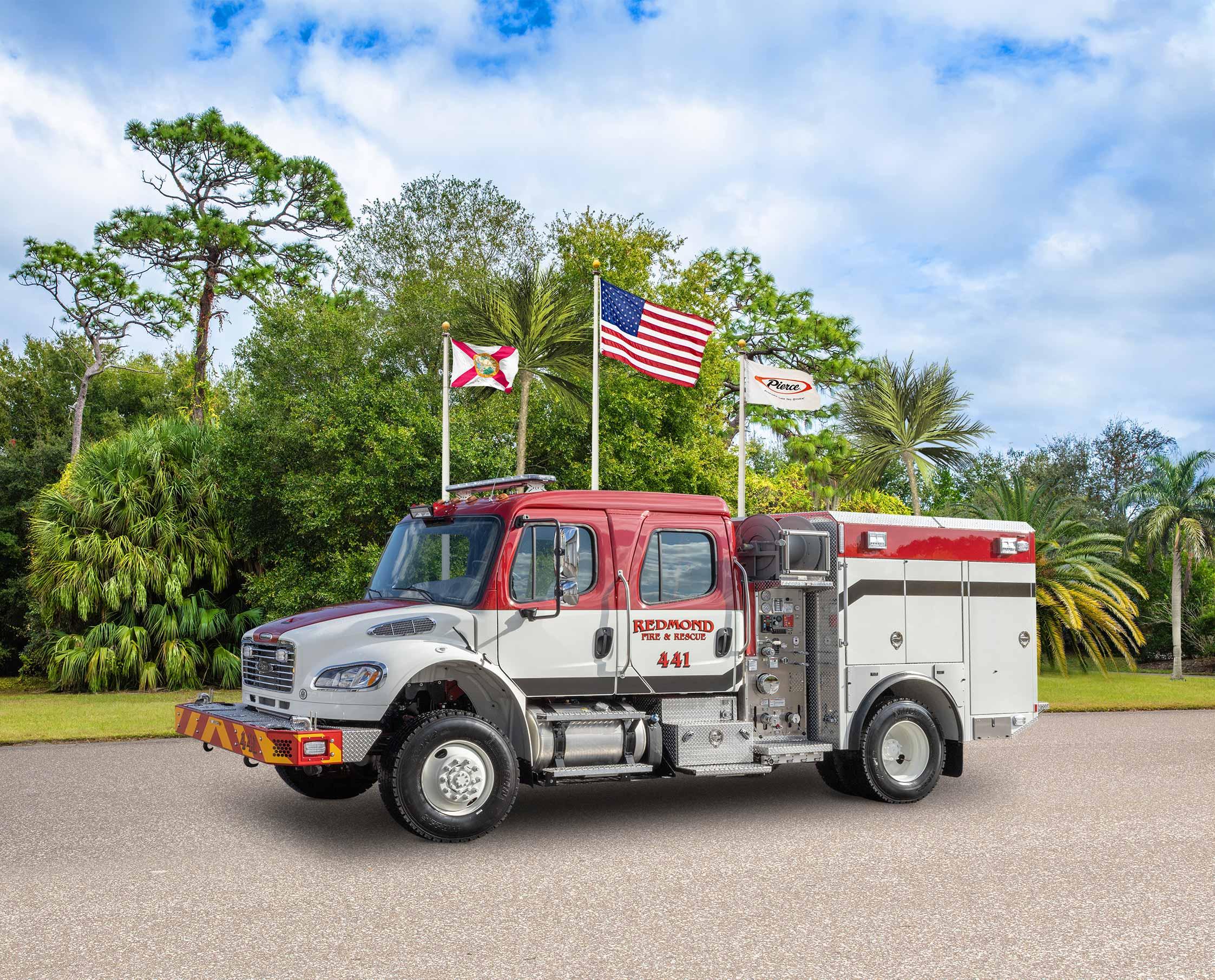 Redmond Fire & Rescue - Pumper