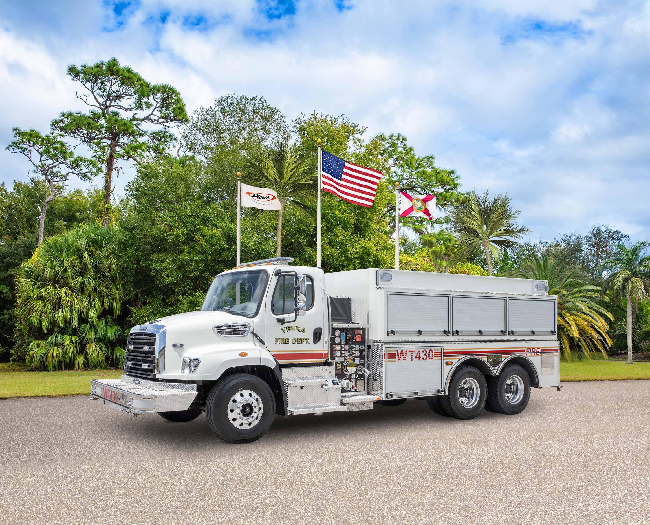 Yreka Fire Department - Tanker