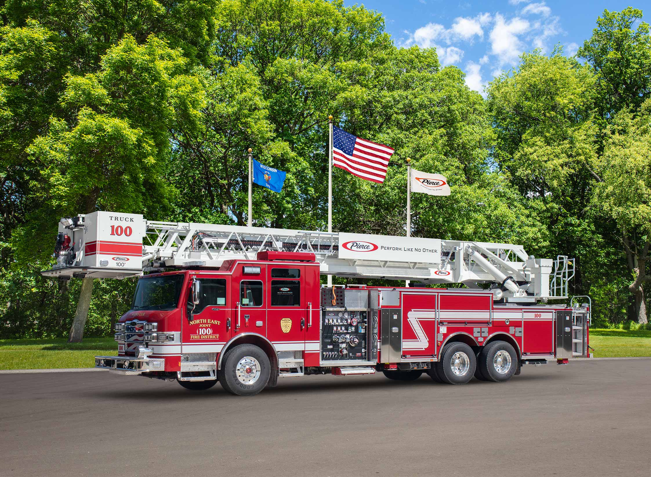 North East Joint Fire District - Aerial