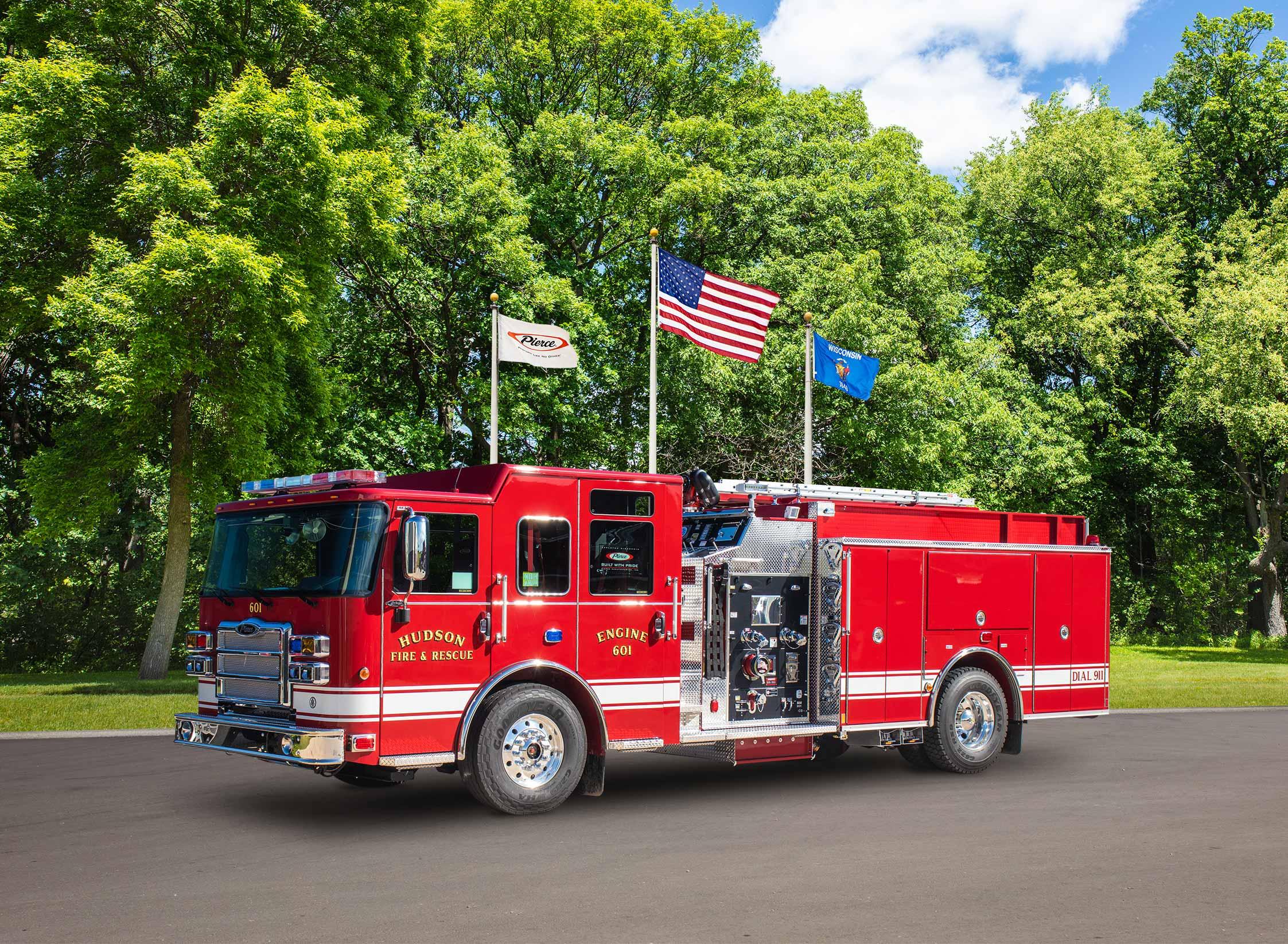 Hudson Fire Department - Pumper