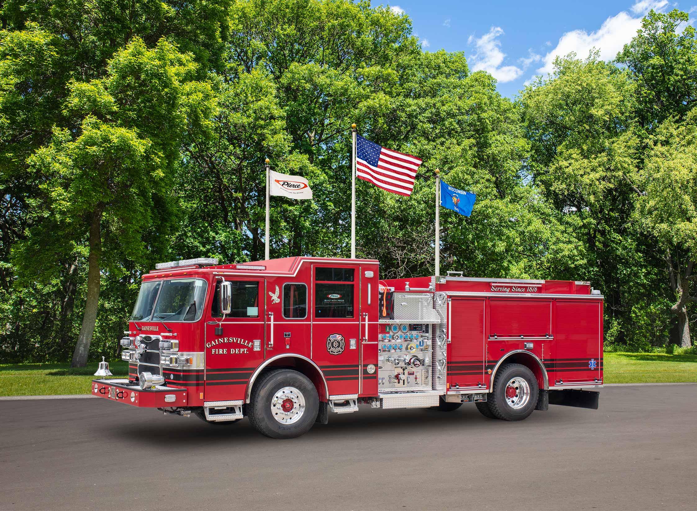 Gainesville Fire Department - Pumper
