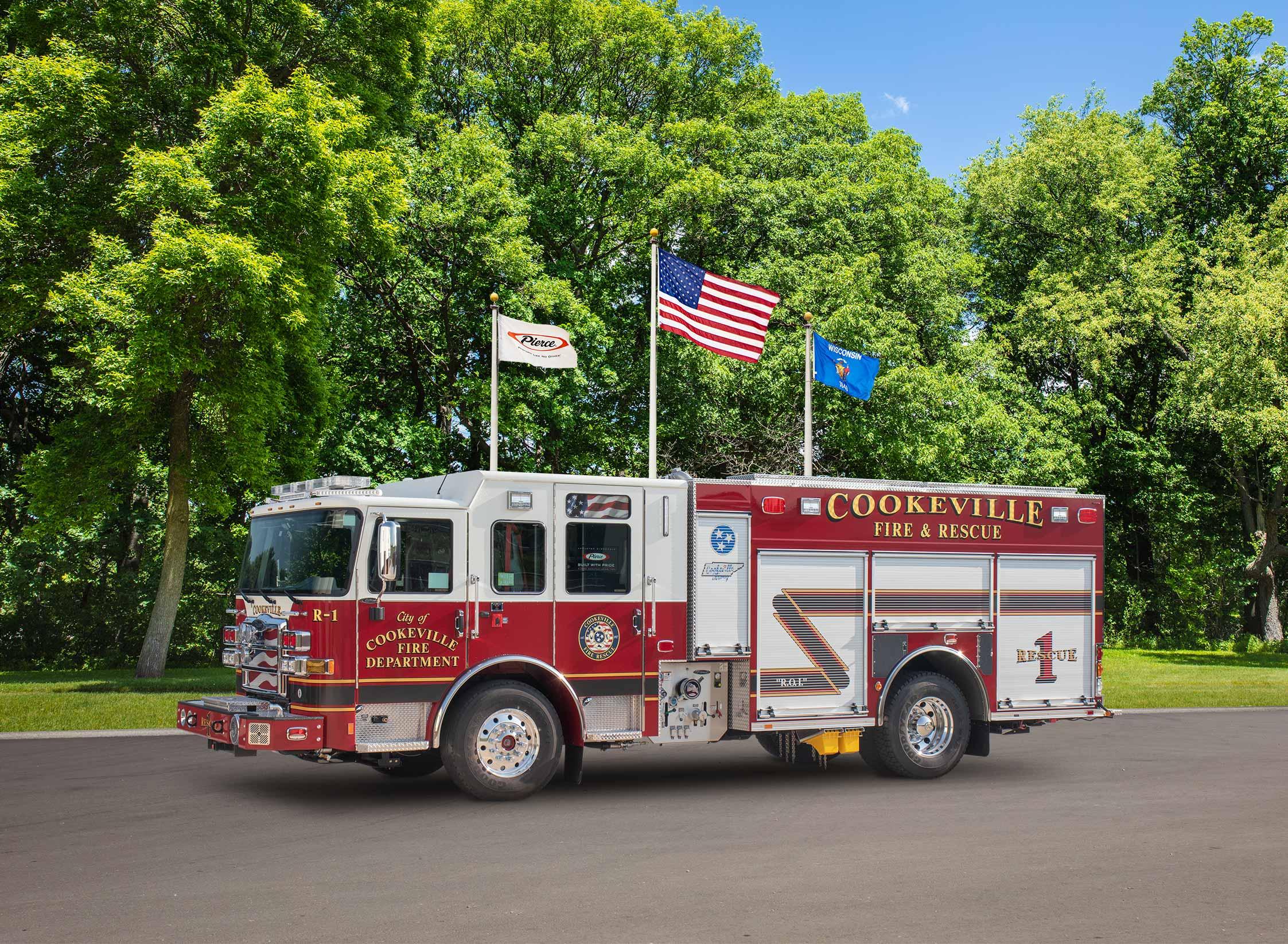Cookeville Fire Department - Pumper