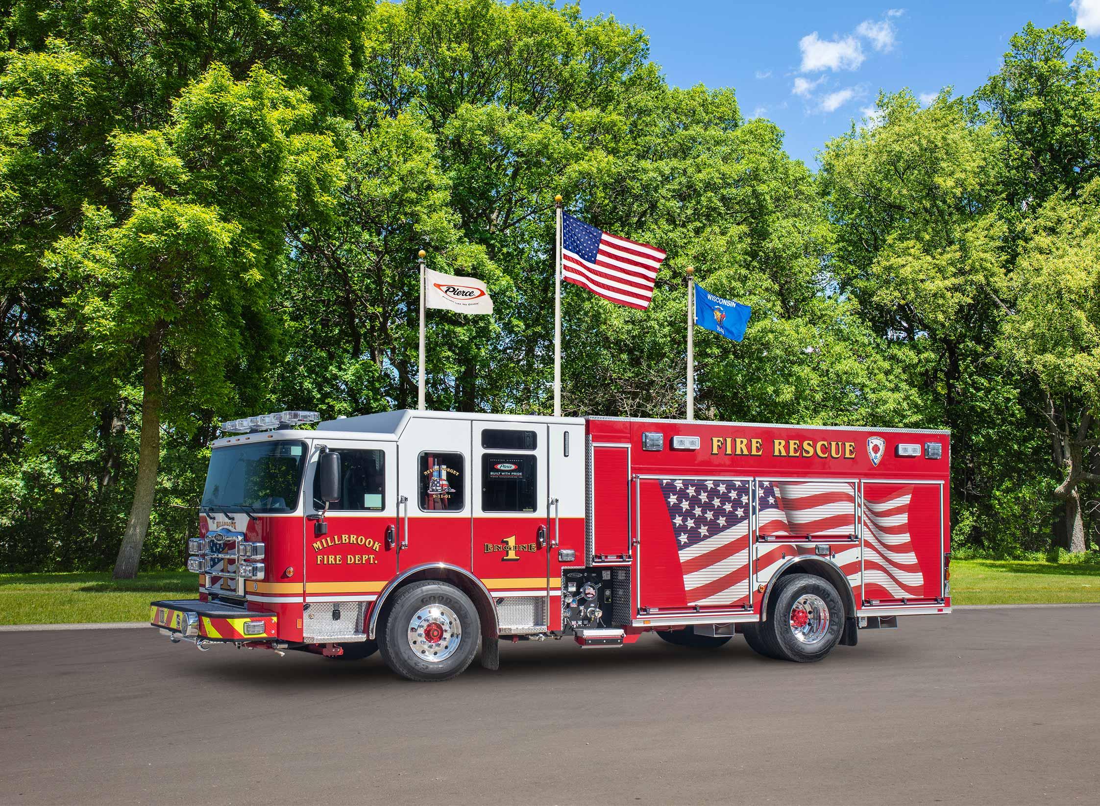 Millbrook Fire Department - Pumper