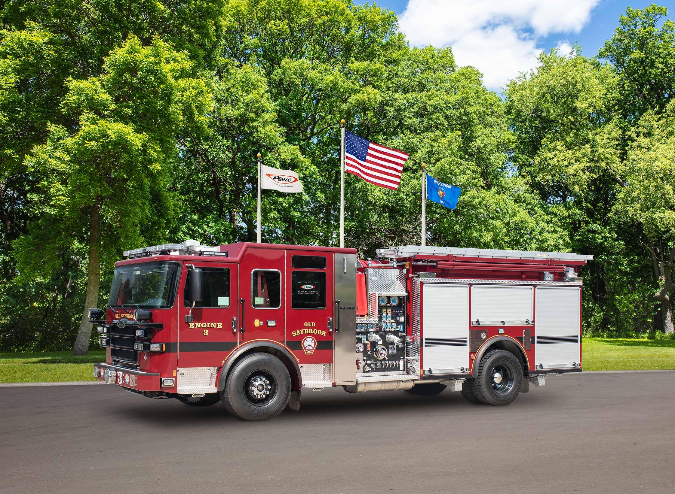 Old Saybrook Volunteer Fire Department - Pumper