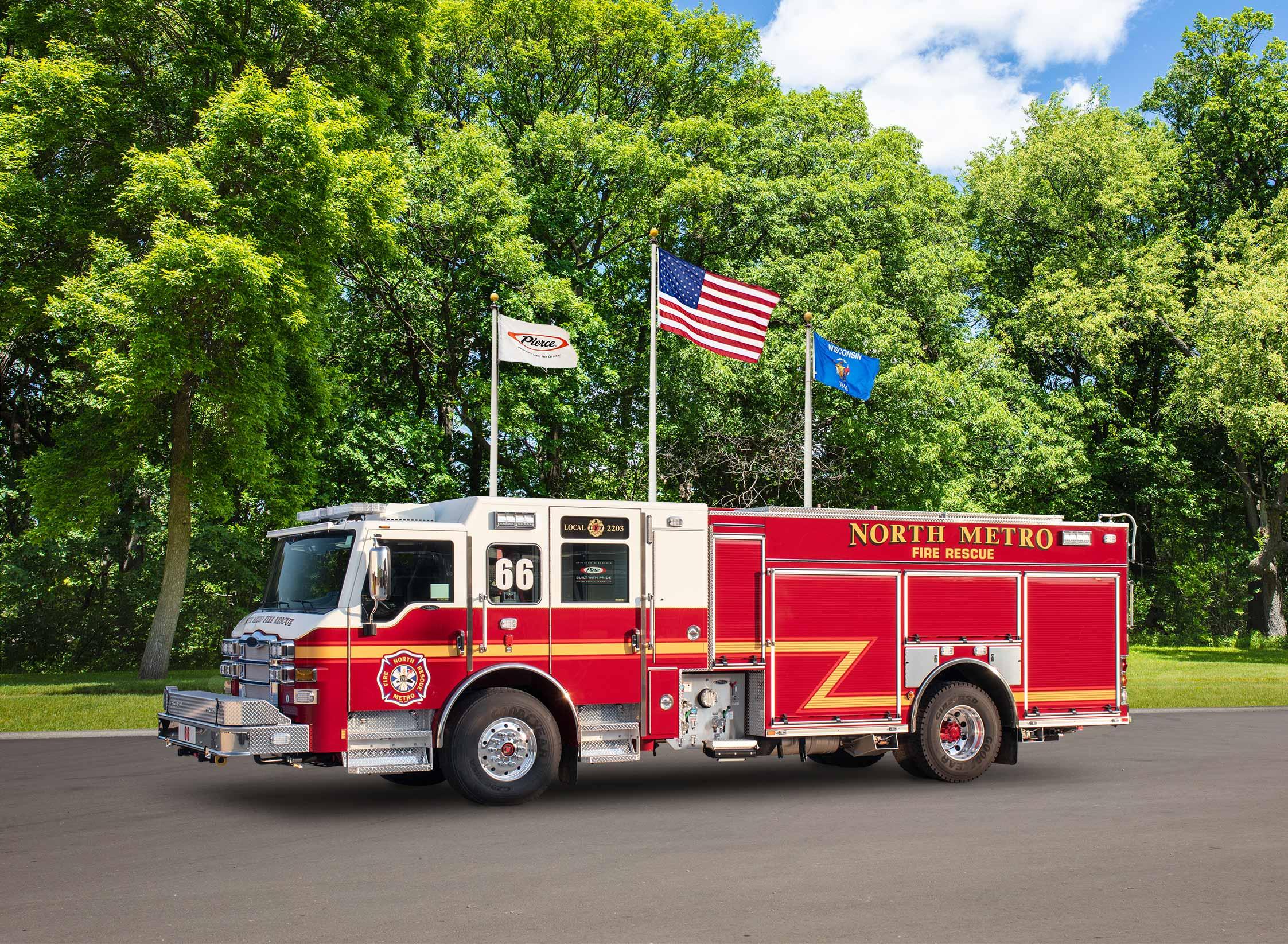 North Metro Fire Rescue - Pumper