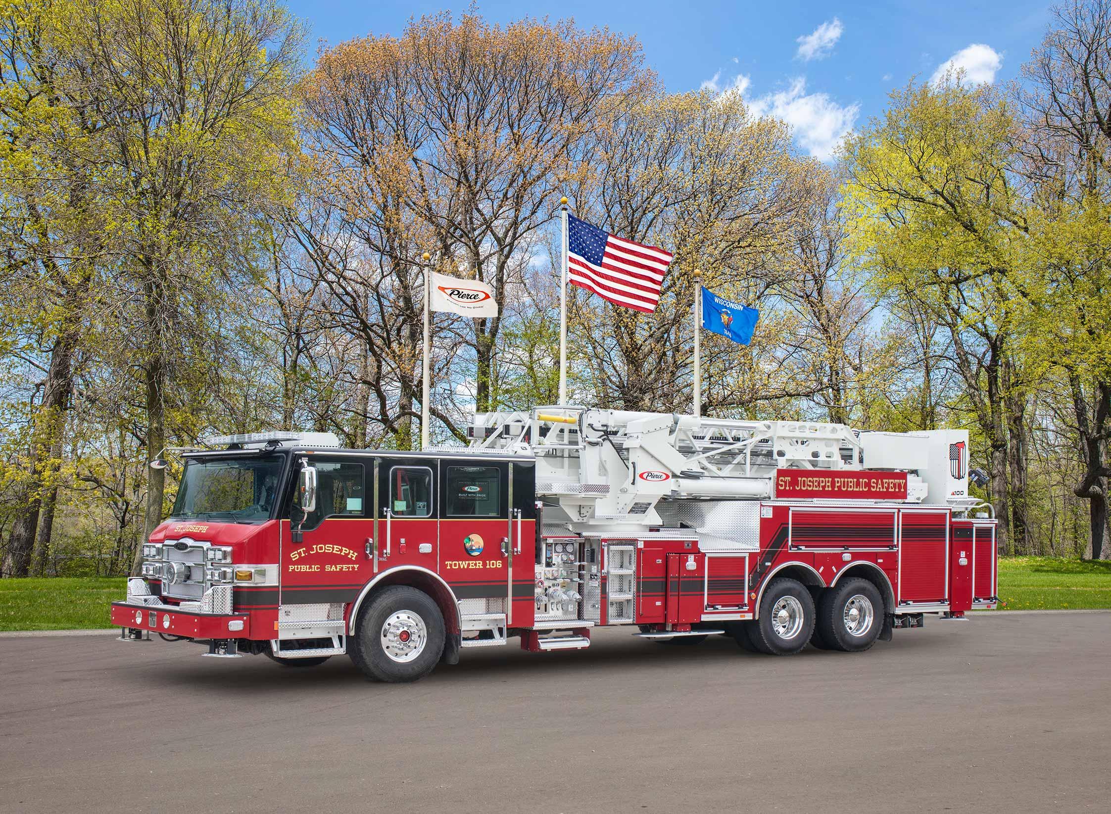 St. Joseph Fire Department - Aerial